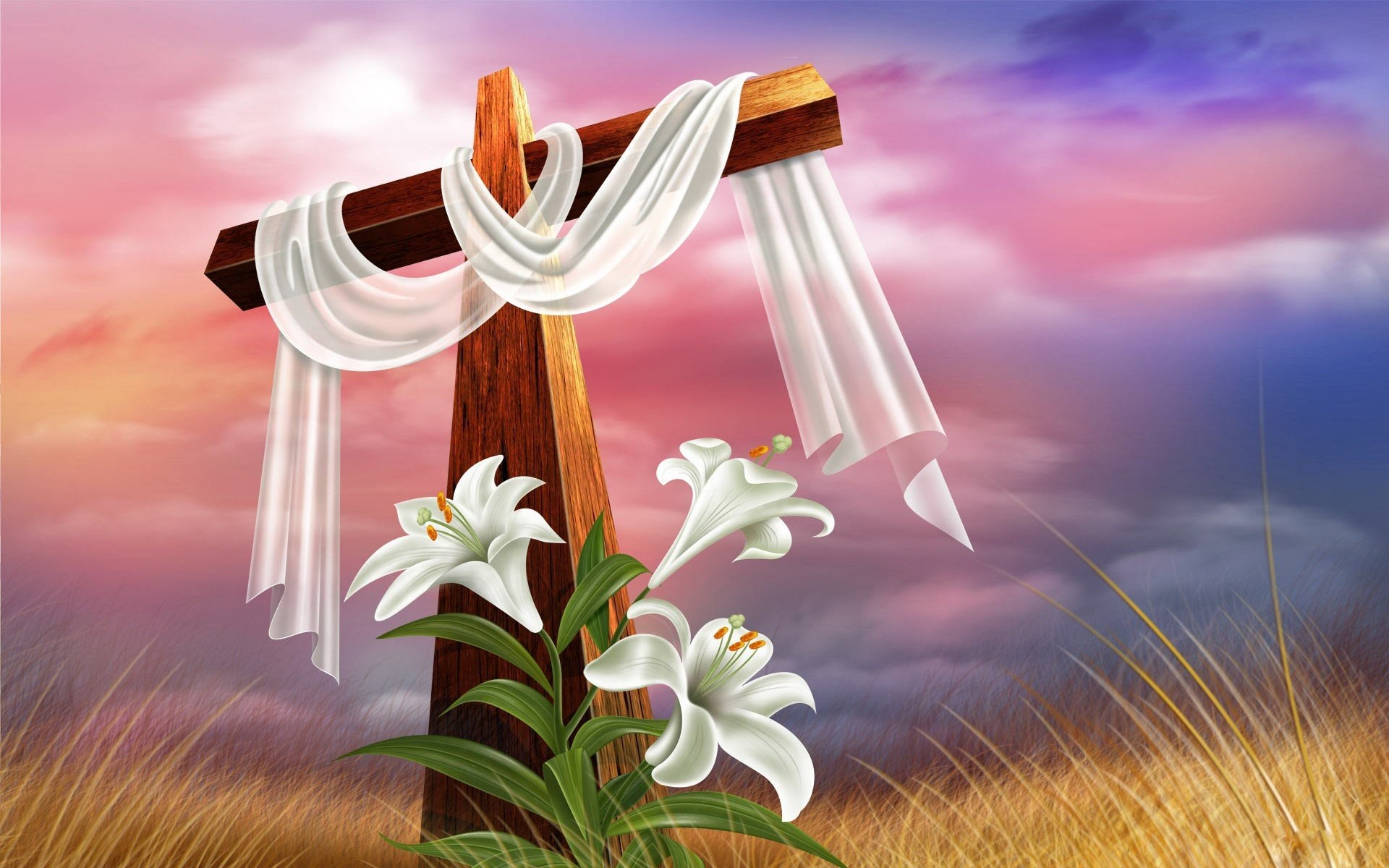 Religious easter backgrounds wallpapertag - Christian easter images free ...