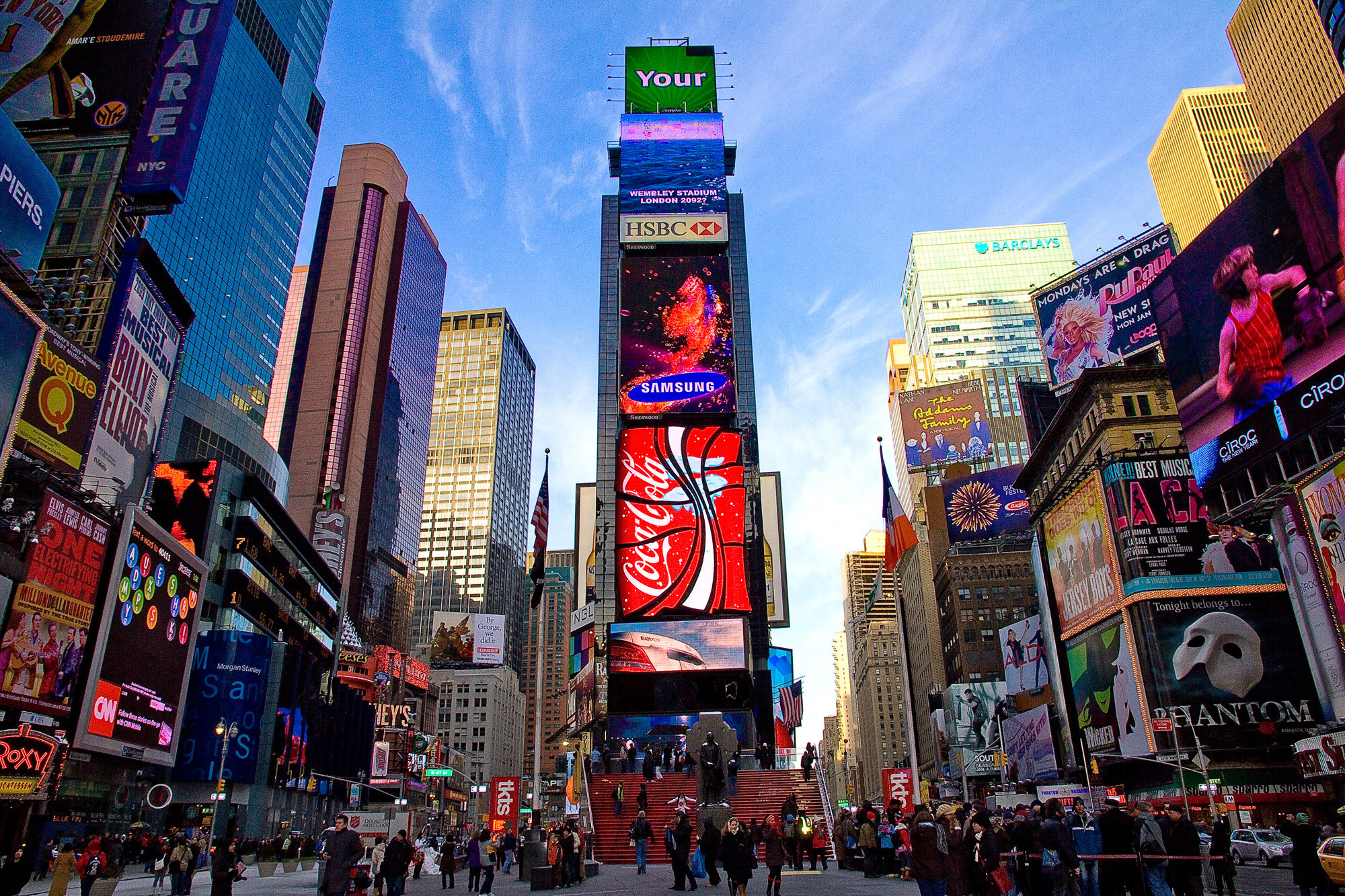 Times square wallpaper wallpapertag - Times square background ...