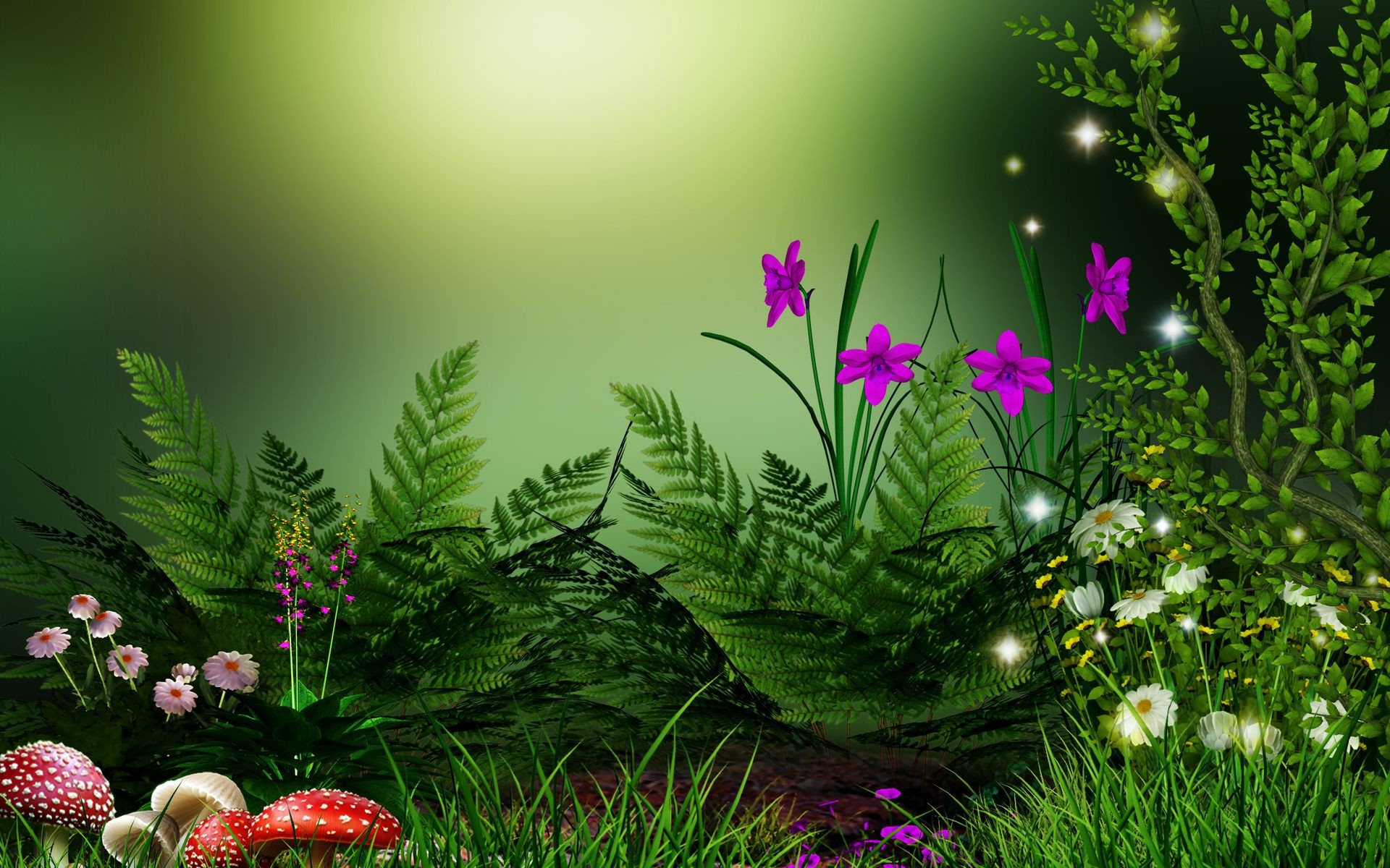 3d Nature Wallpapers Wallpapertag
