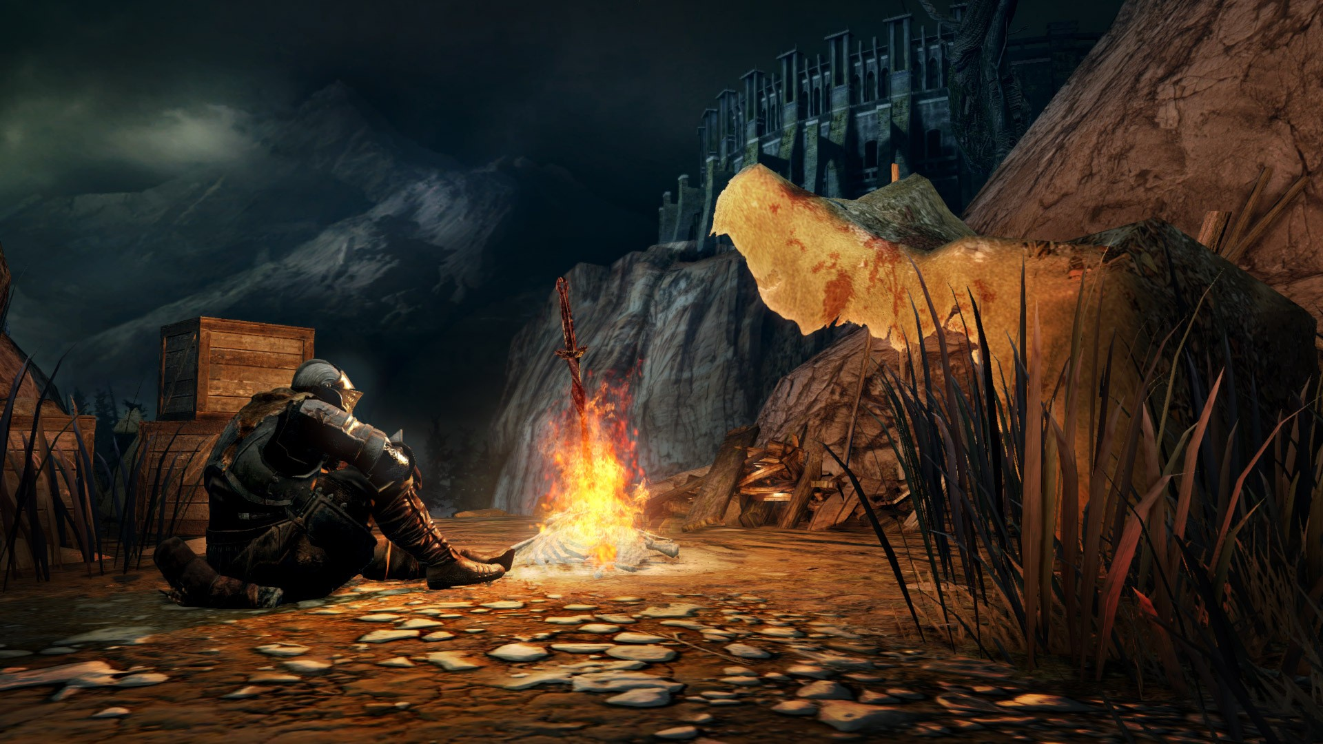 Dark Souls Bonfire Wallpaper Download Free Amazing High