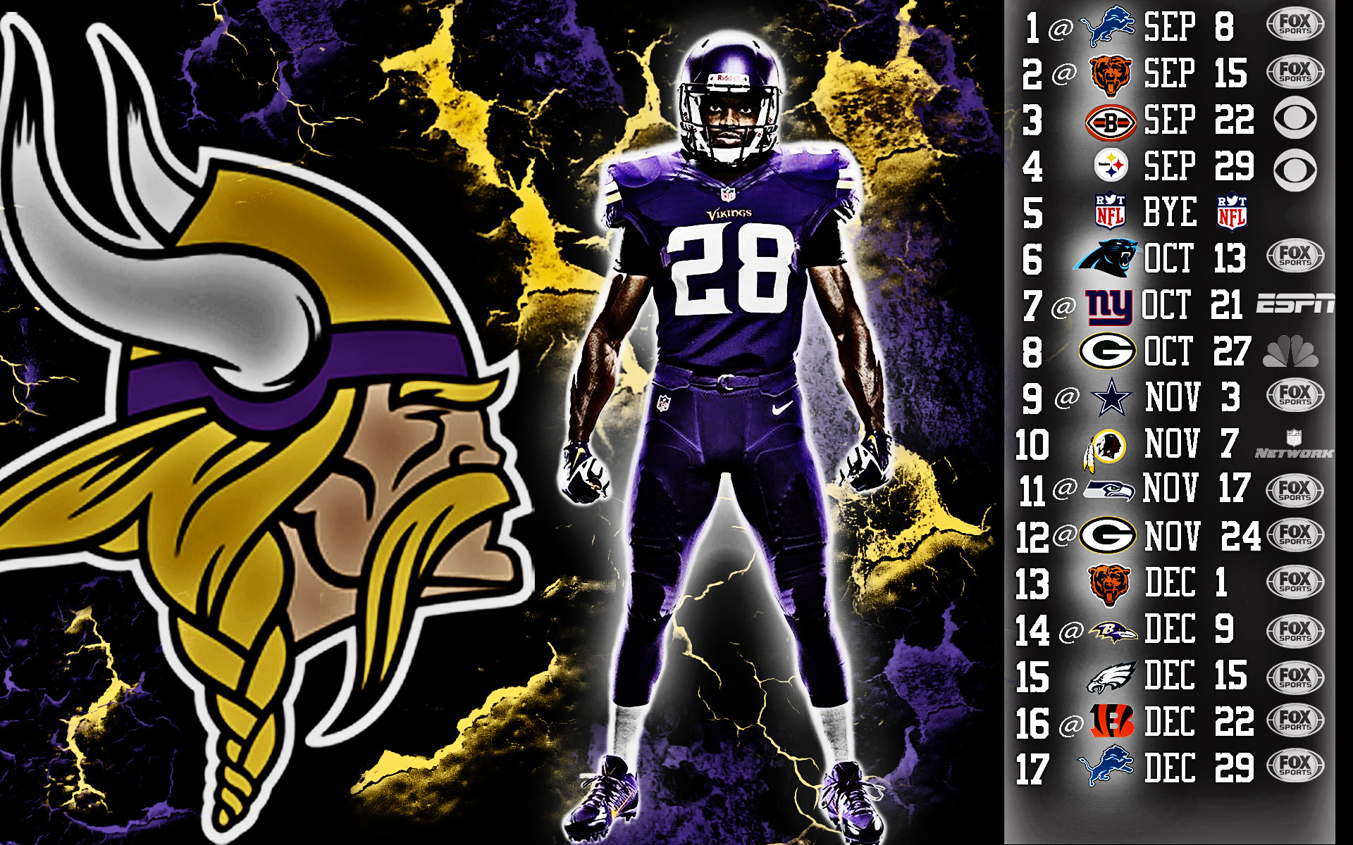 Minnesota Vikings Wallpapers Wallpapertag