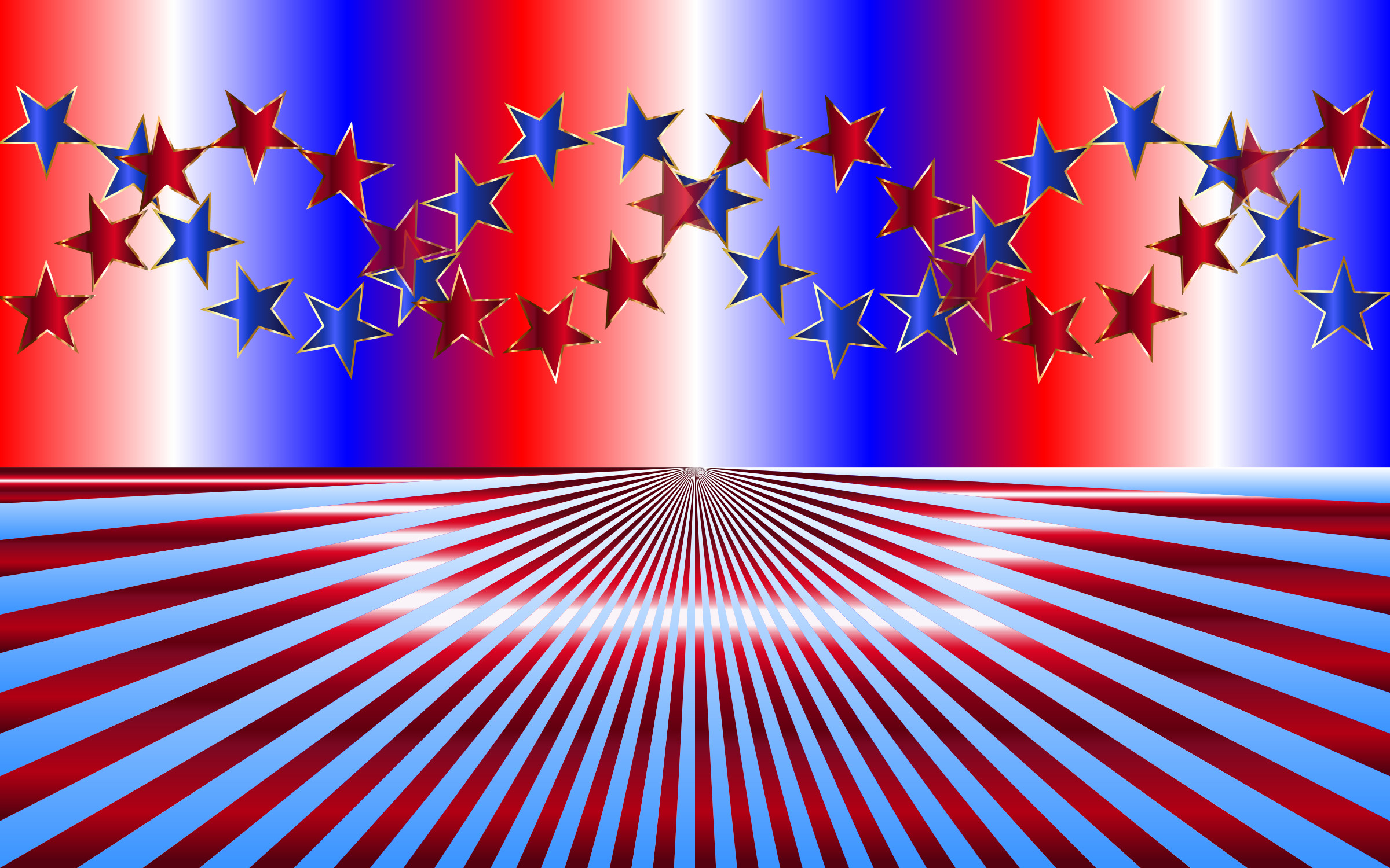 Red White and Blue Backgrounds ·① - photo#4
