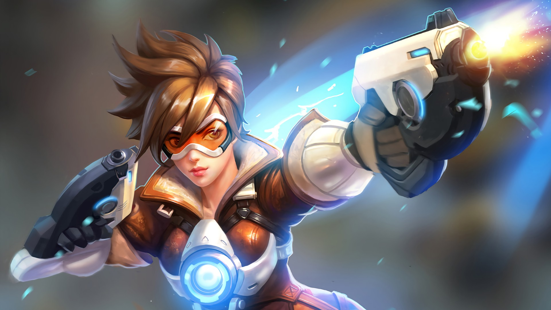 Tracer Overwatch Wallpaper Download Free Cool Hd Backgrounds For