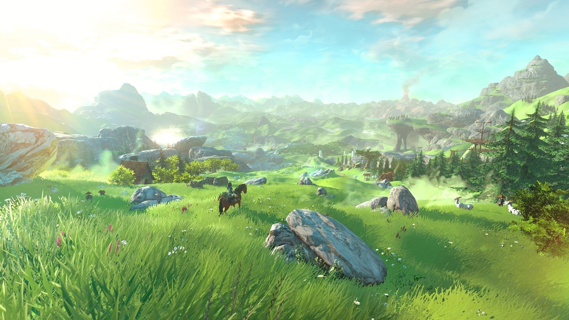 Legend Of Zelda Breath Of The Wild Wallpaper Download Free Hd