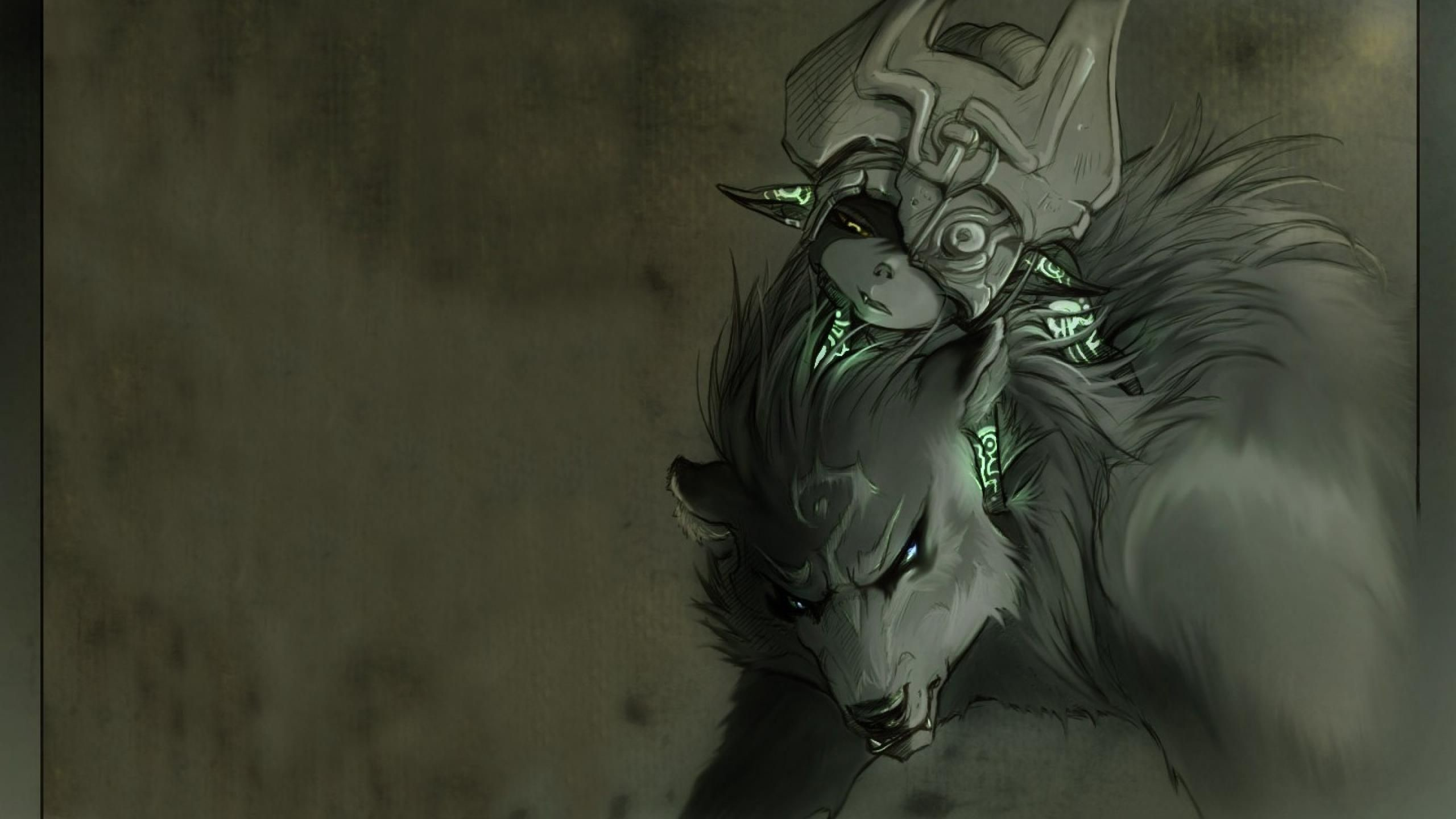 Midna And Wolf Link Wallpaper Wallpapertag