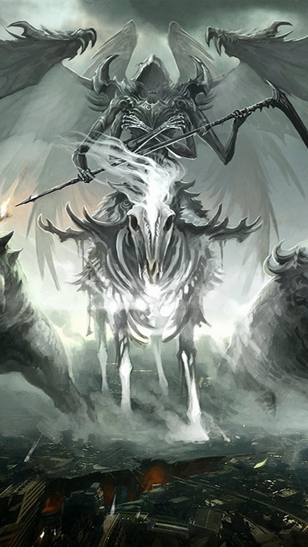 The Grim Reaper Wallpaper ·① WallpaperTag