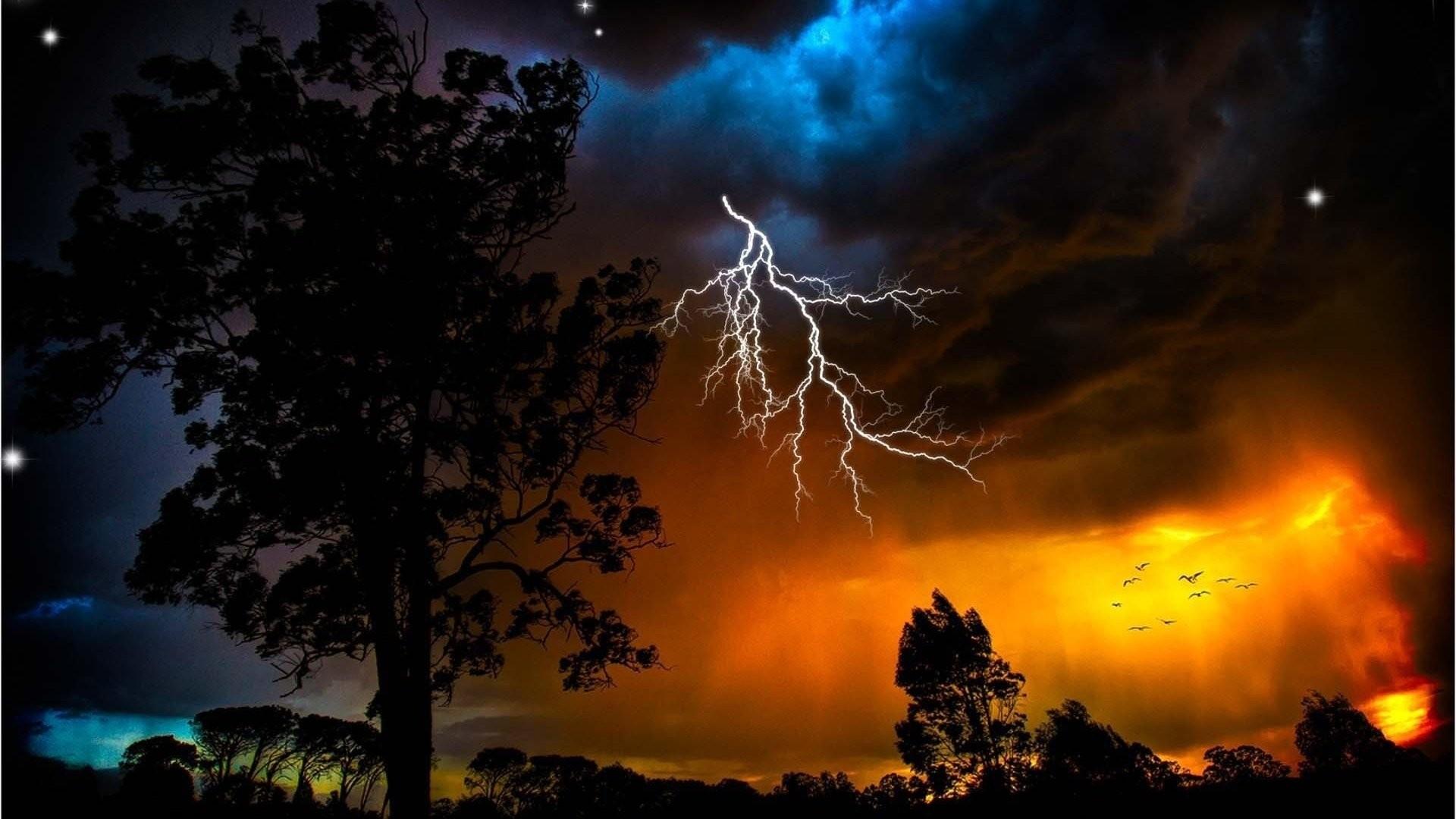 Lightning Wallpaper Hd Iphone