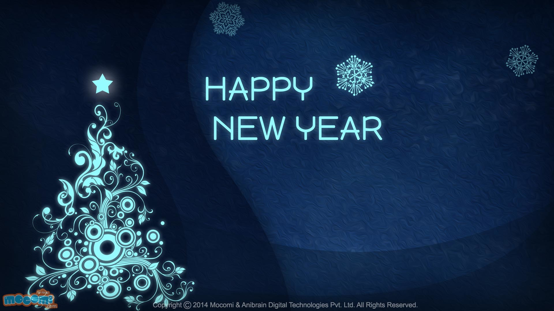 happy new year hd desktop widescreen high definition