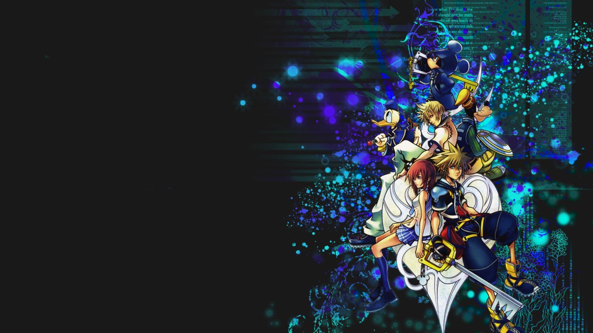 Kingdom Hearts Wallpaper HD ·① WallpaperTag