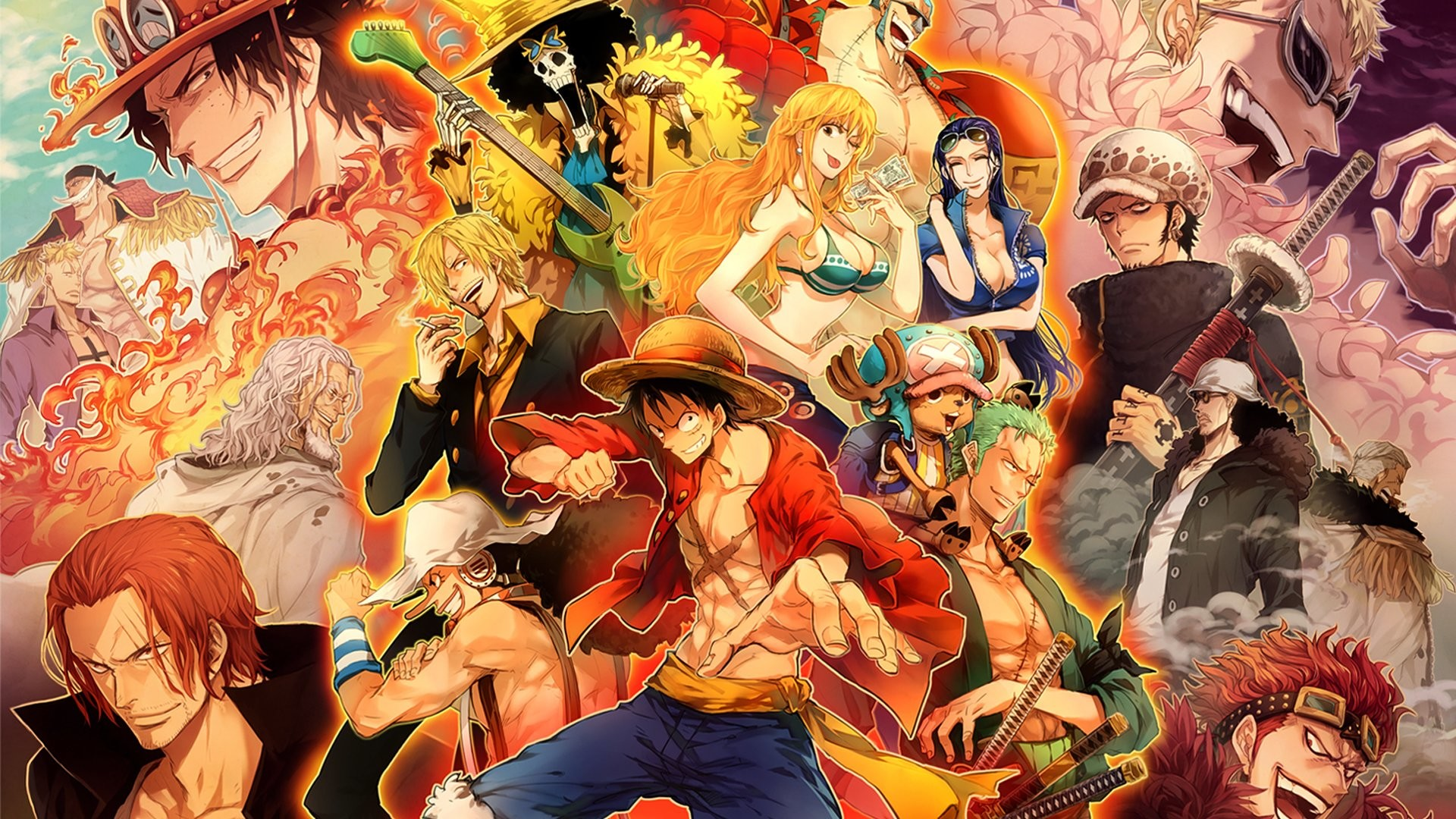 One Piece Wallpaper Wanted ·①