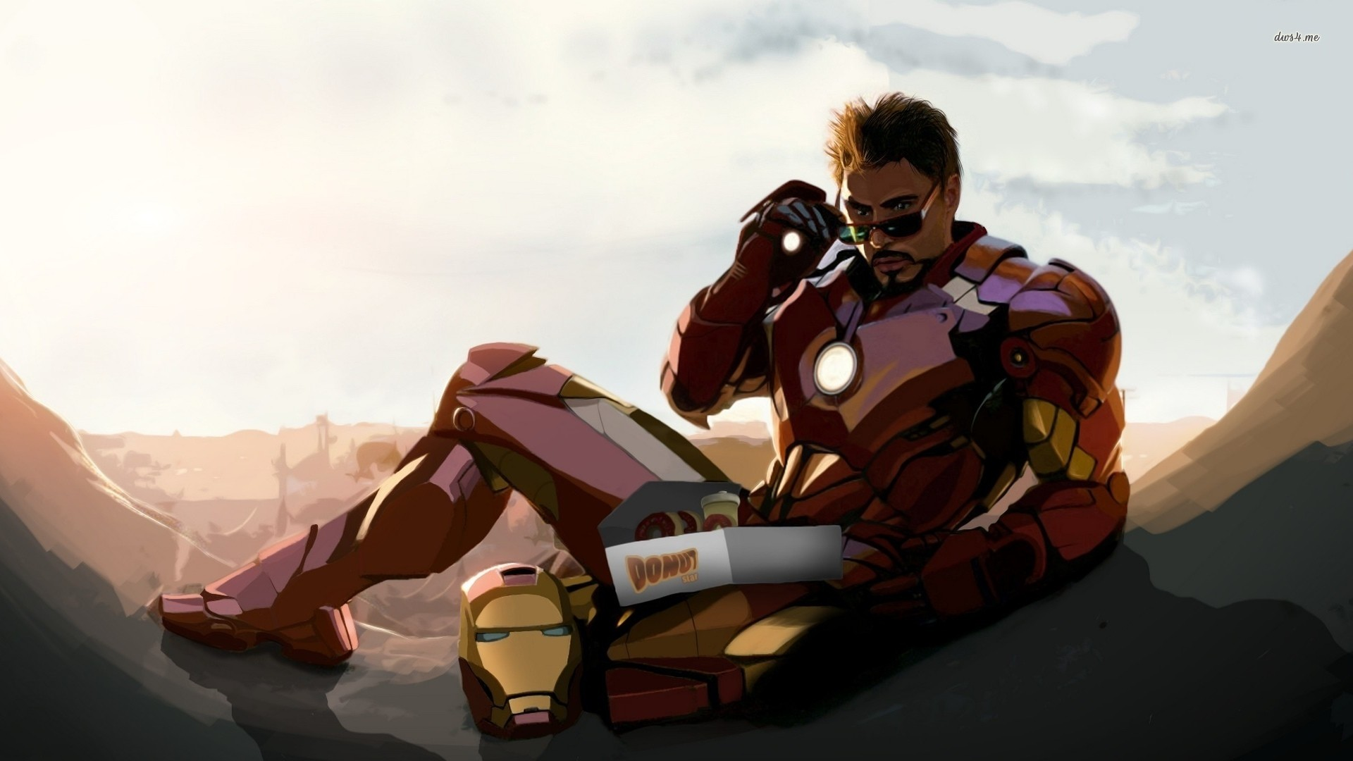 Tony stark wallpaper wallpapertag - Iron man wallpaper anime ...