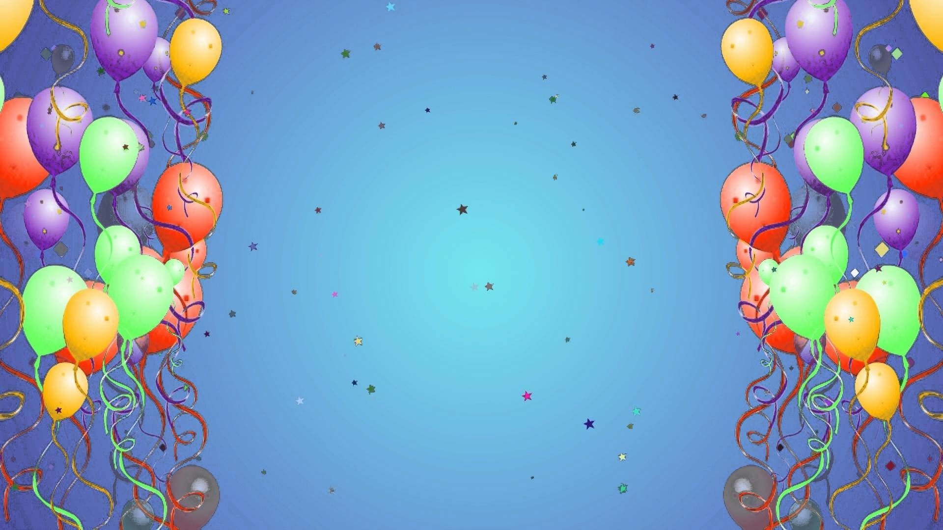 Birthday background images wallpapertag - Happy birthday balloon images hd ...