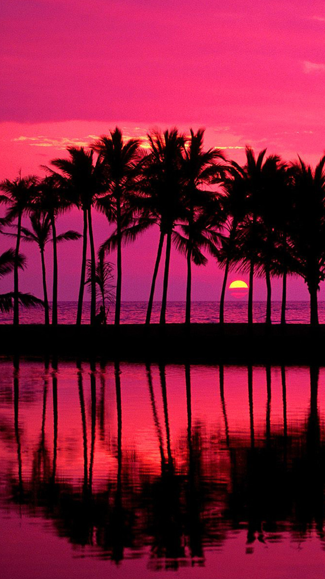 Hawaii Sunset Wallpaper ·① WallpaperTag
