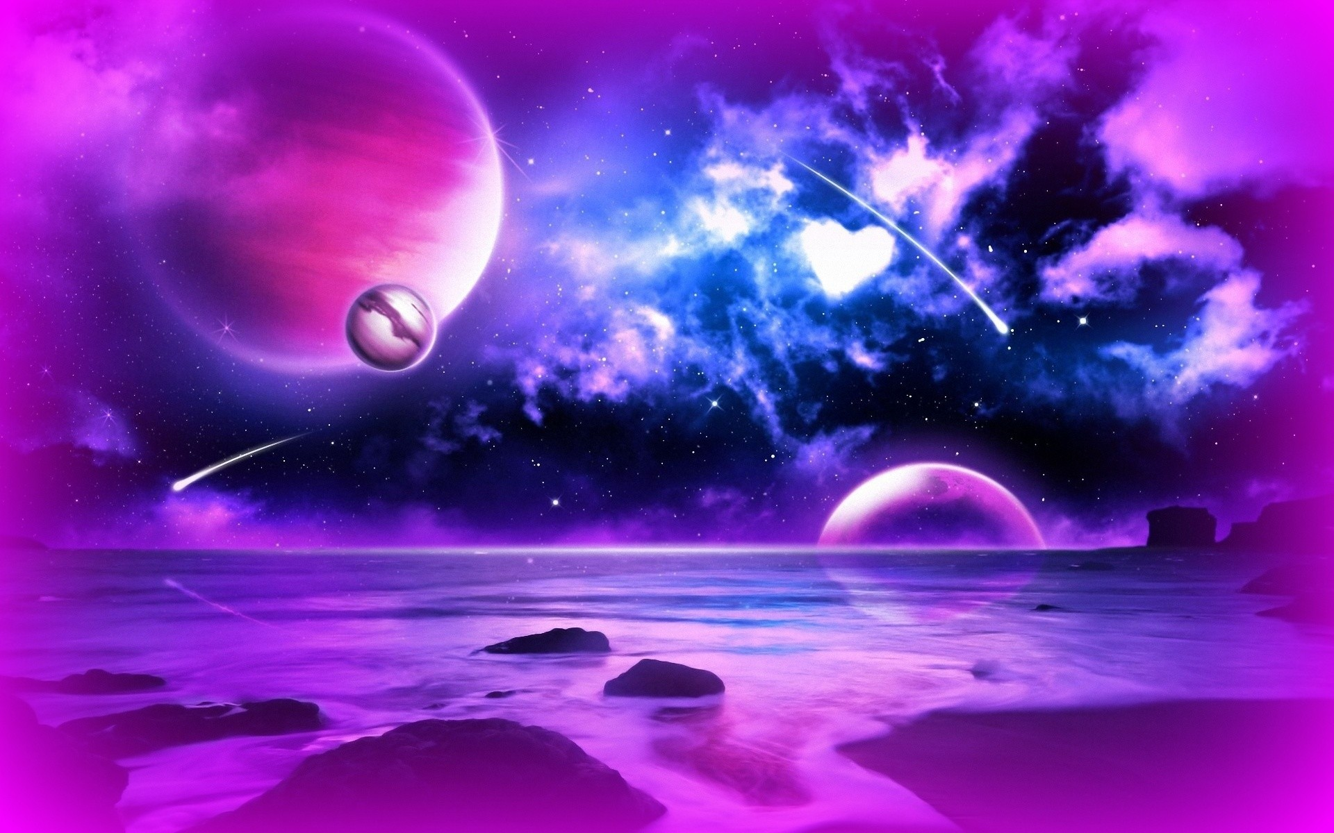 color planet aesthetic wallpapers - HD 1920×1200