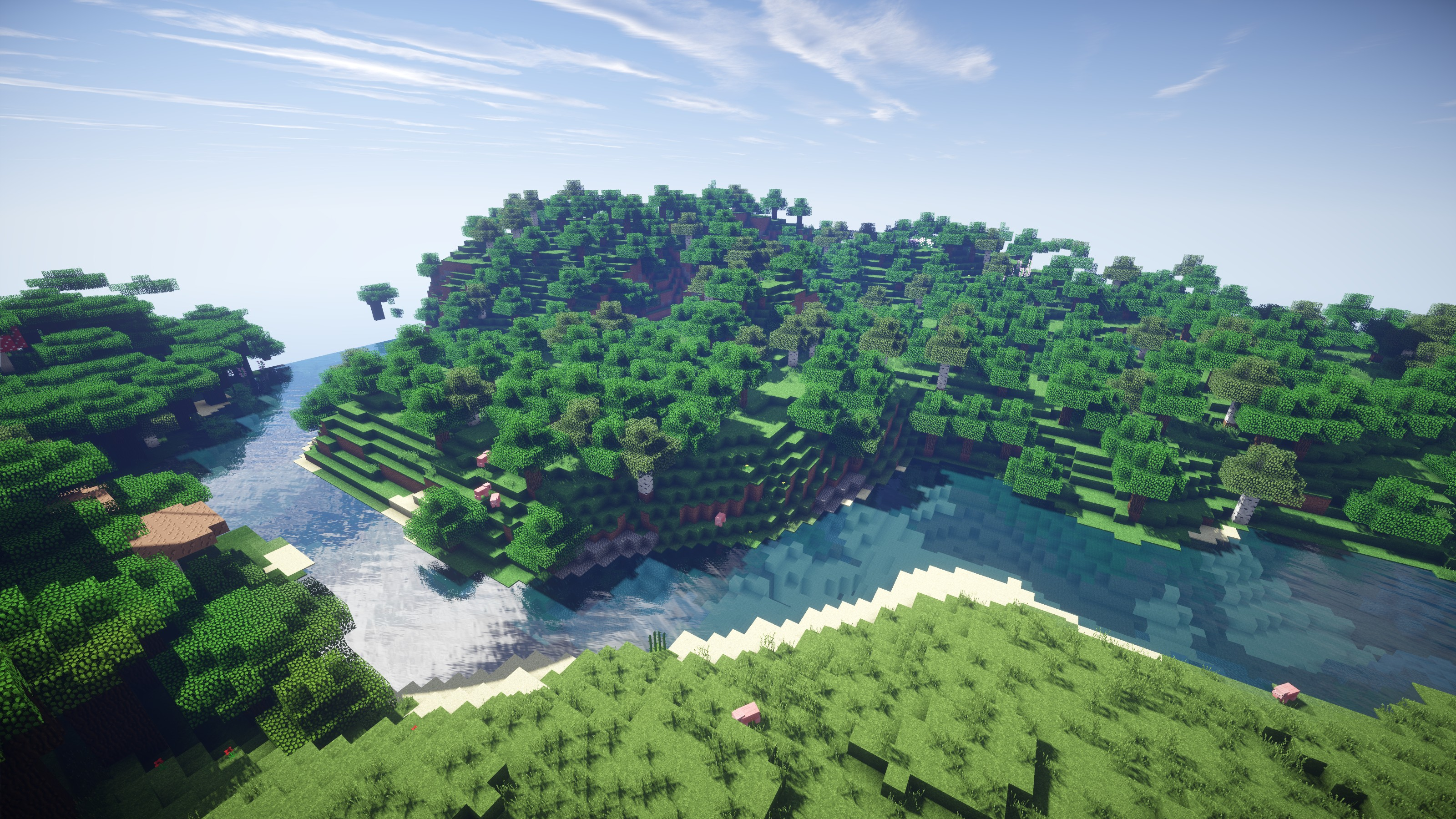 Most Inspiring Wallpaper Minecraft High Definition - 157294-new-minecraft-shaders-background-3200x1800-for-ipad-pro  Pictures_603088.jpg