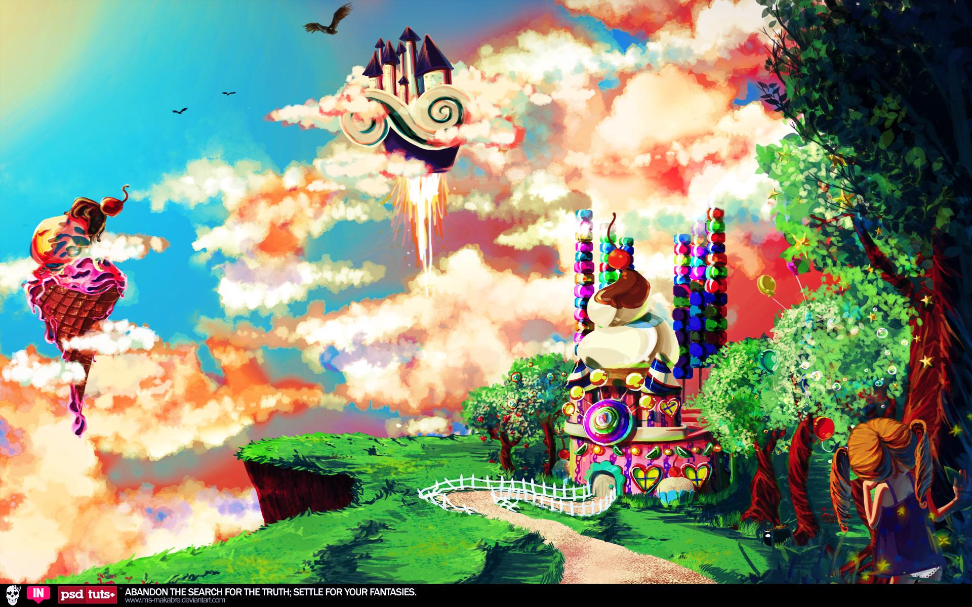 Candyland Background 1
