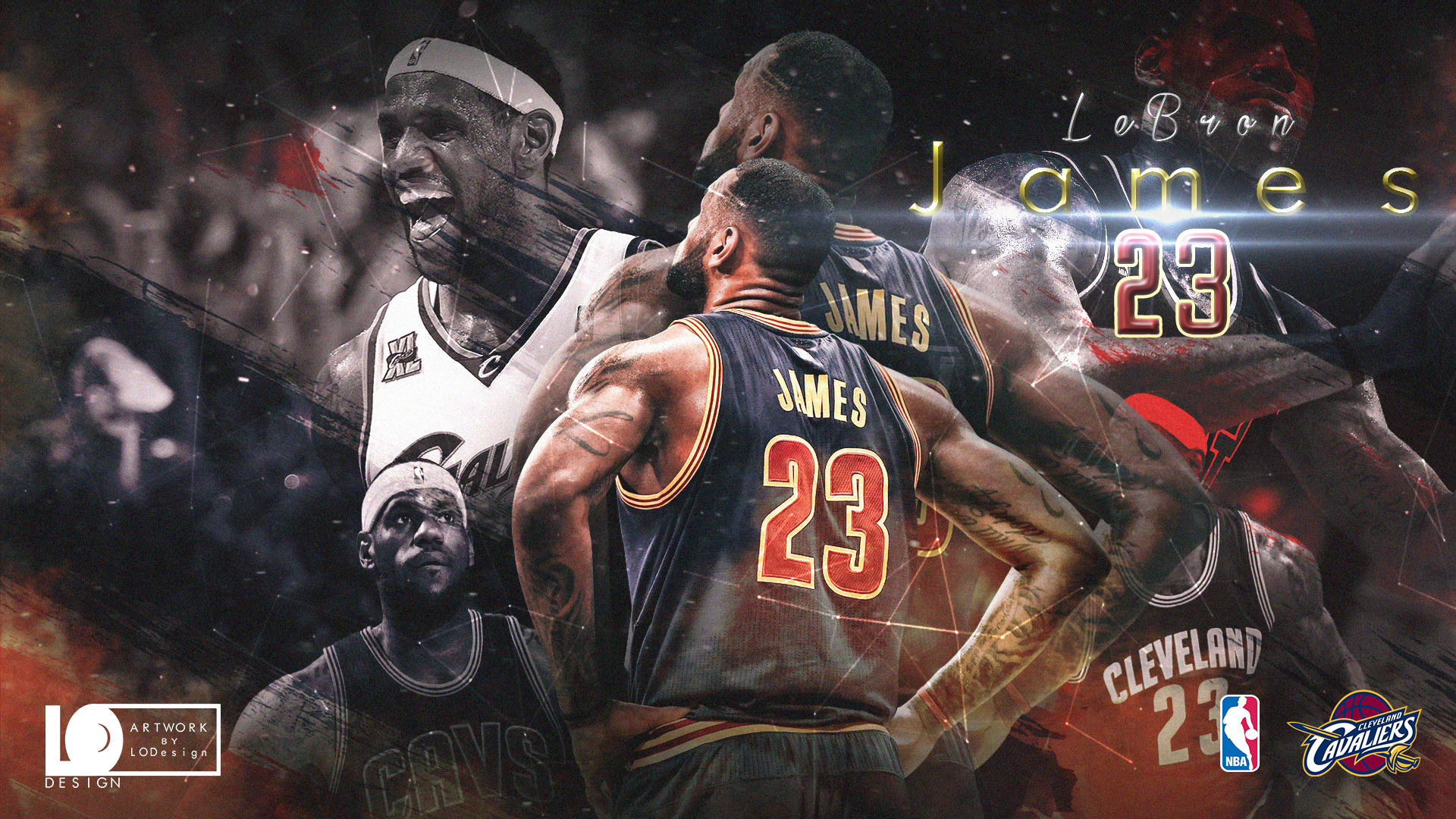 1920x1080 LeBron James 2017 Playoffs Wallpaper Download Q
