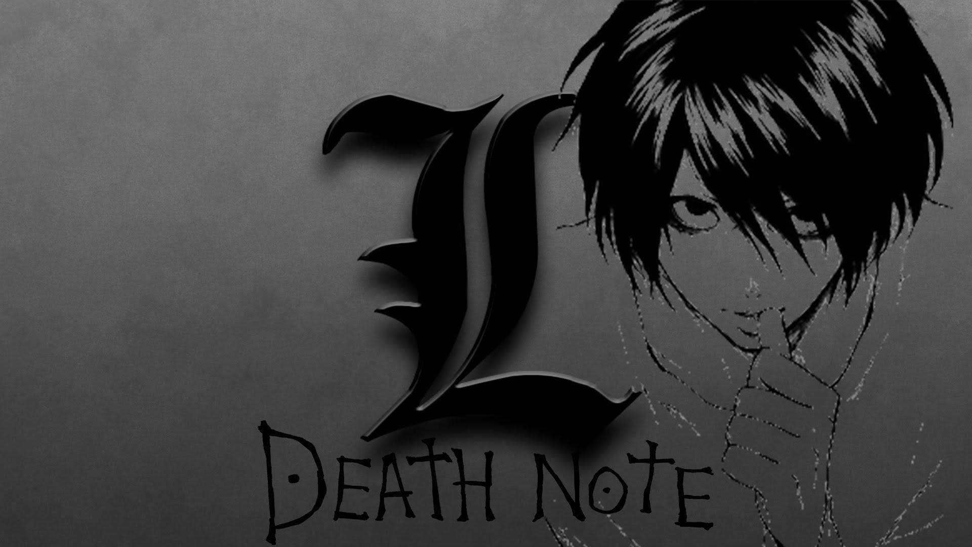 L Wallpaper Death Note Wallpapertag