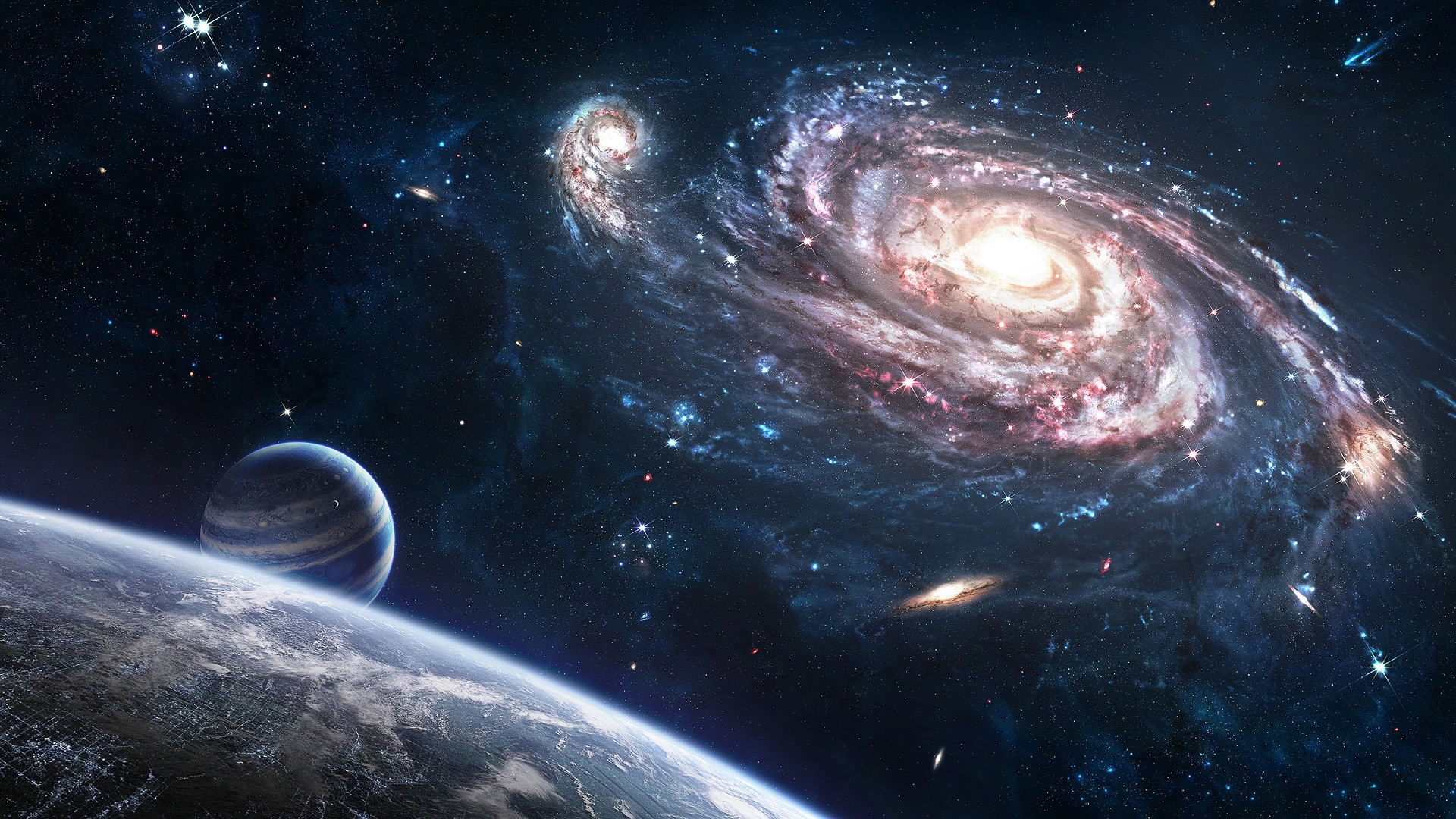 75 cool space backgrounds download free hd wallpapers - Space backgrounds 1920x1080 ...