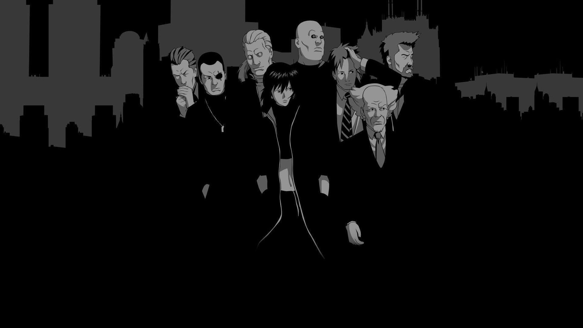 Wallpaper Ghost In The Shell 1920x1080 Puscifer 1147518 Hd