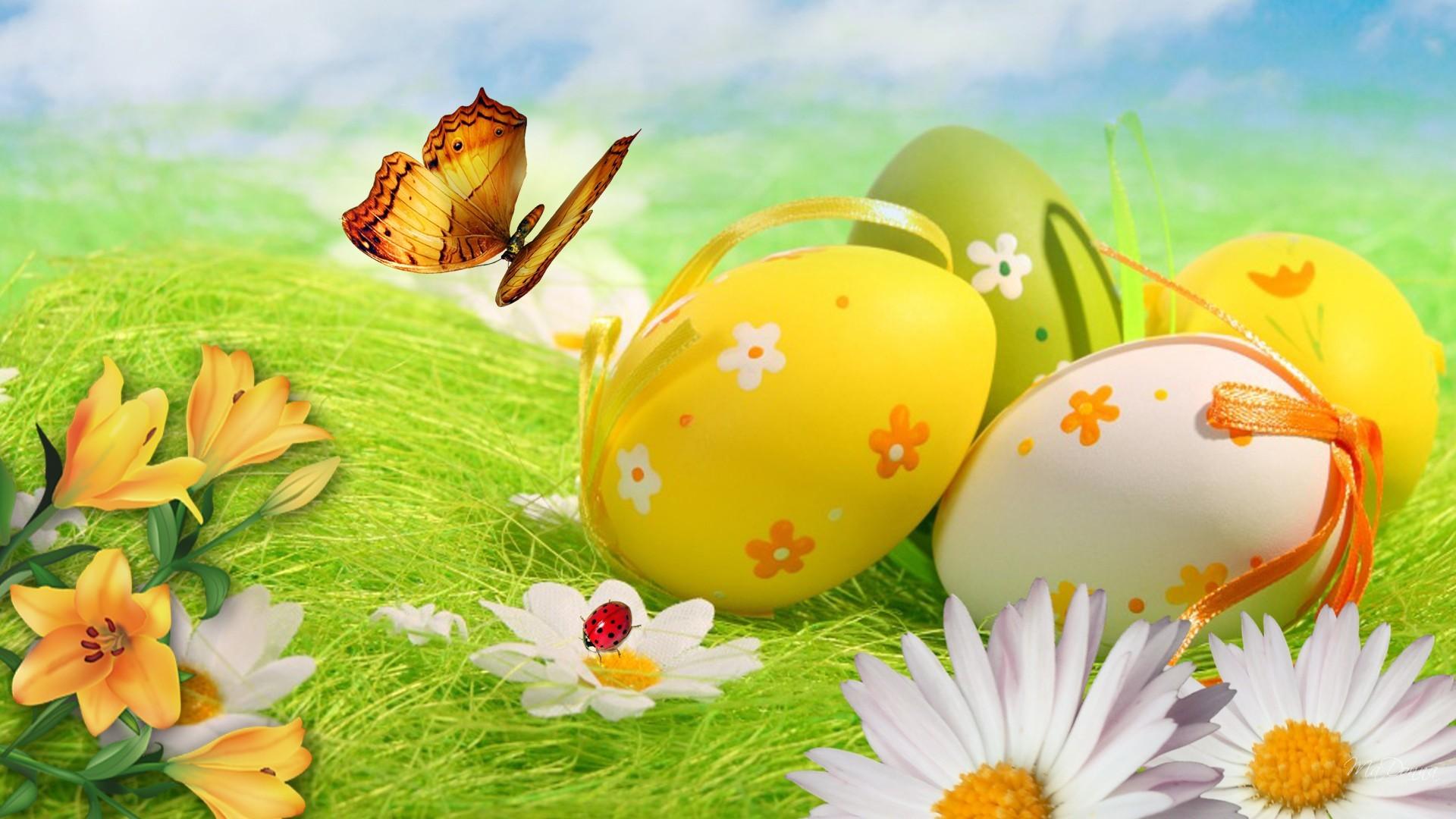 Easter Egg Wallpaper Desktop ·① WallpaperTag