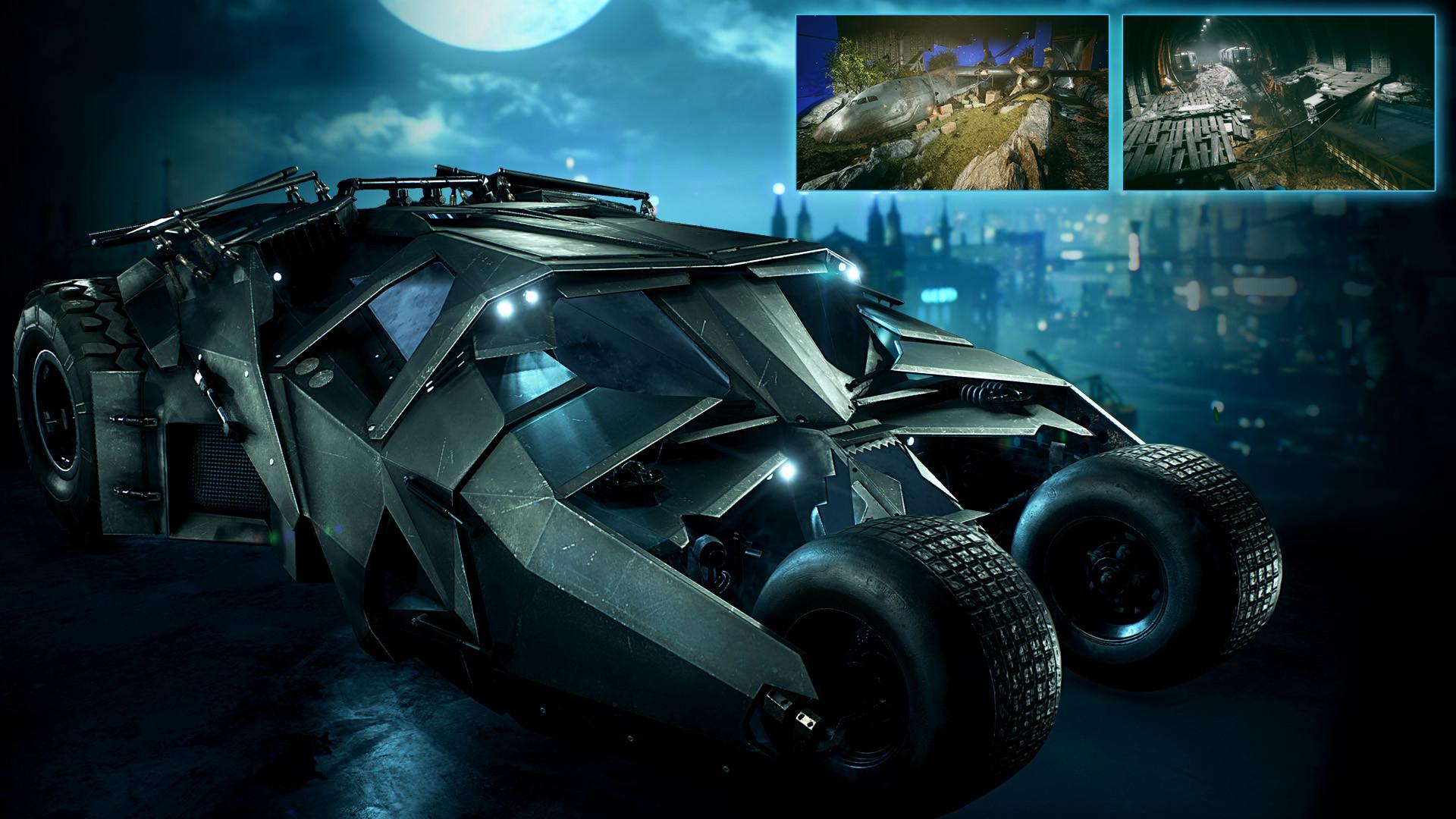 September Batman: Arkham Knight DLC includes The Dark