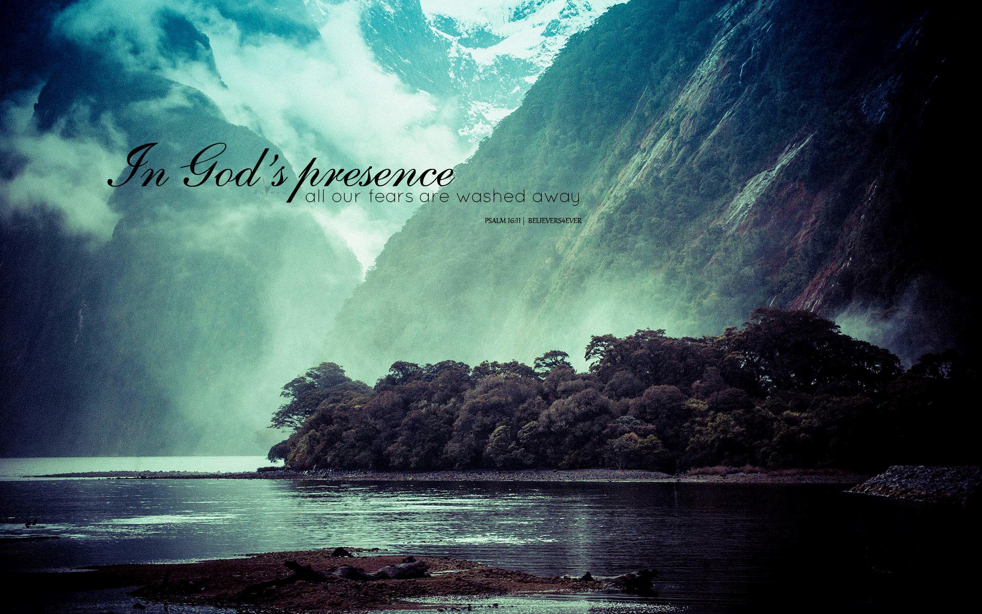 1920x1200 In Gods Presence Psalm 1611 Christian Graphics Wallpapers Desktop