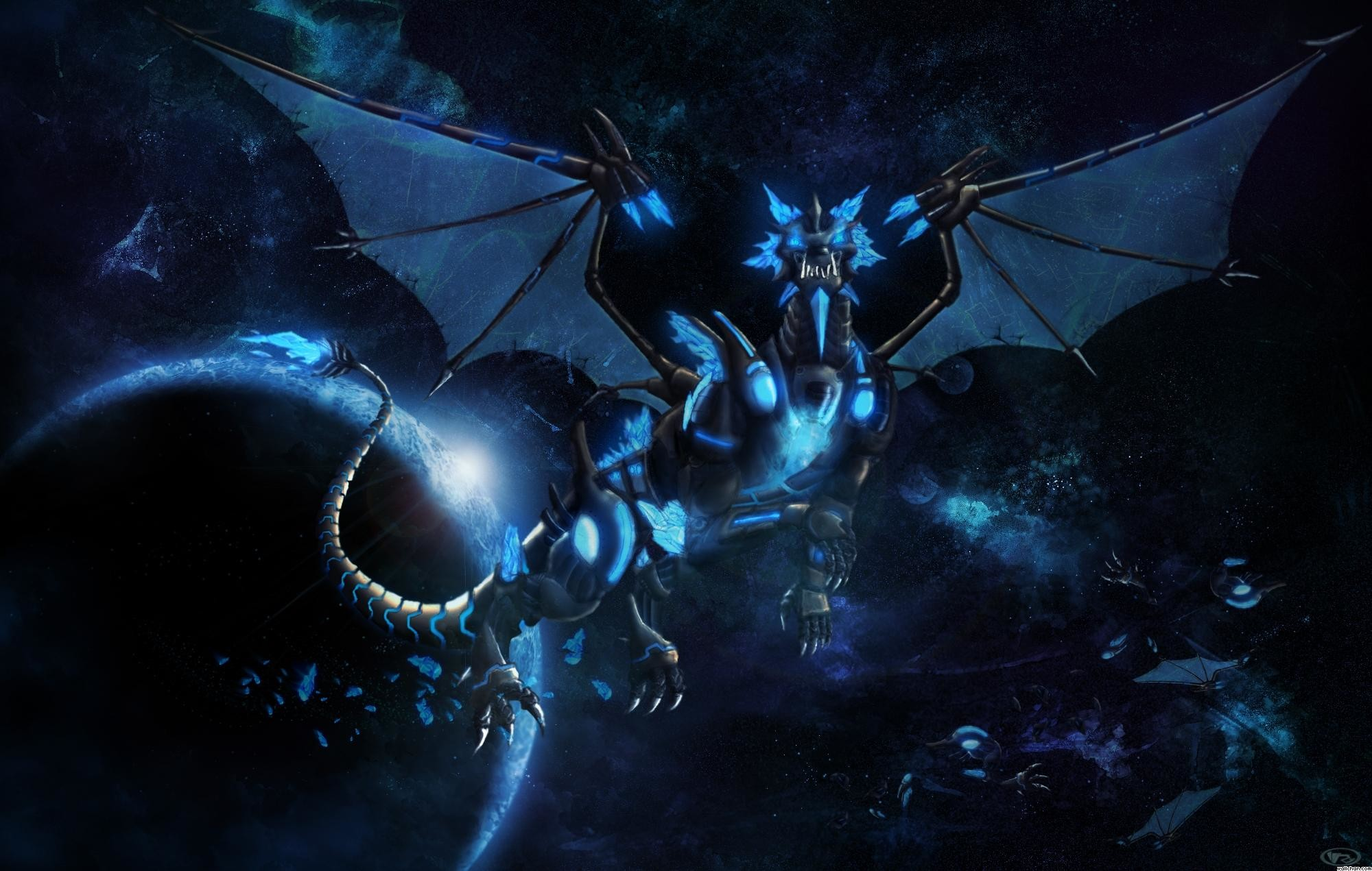 electric dragon wallpapers ·①
