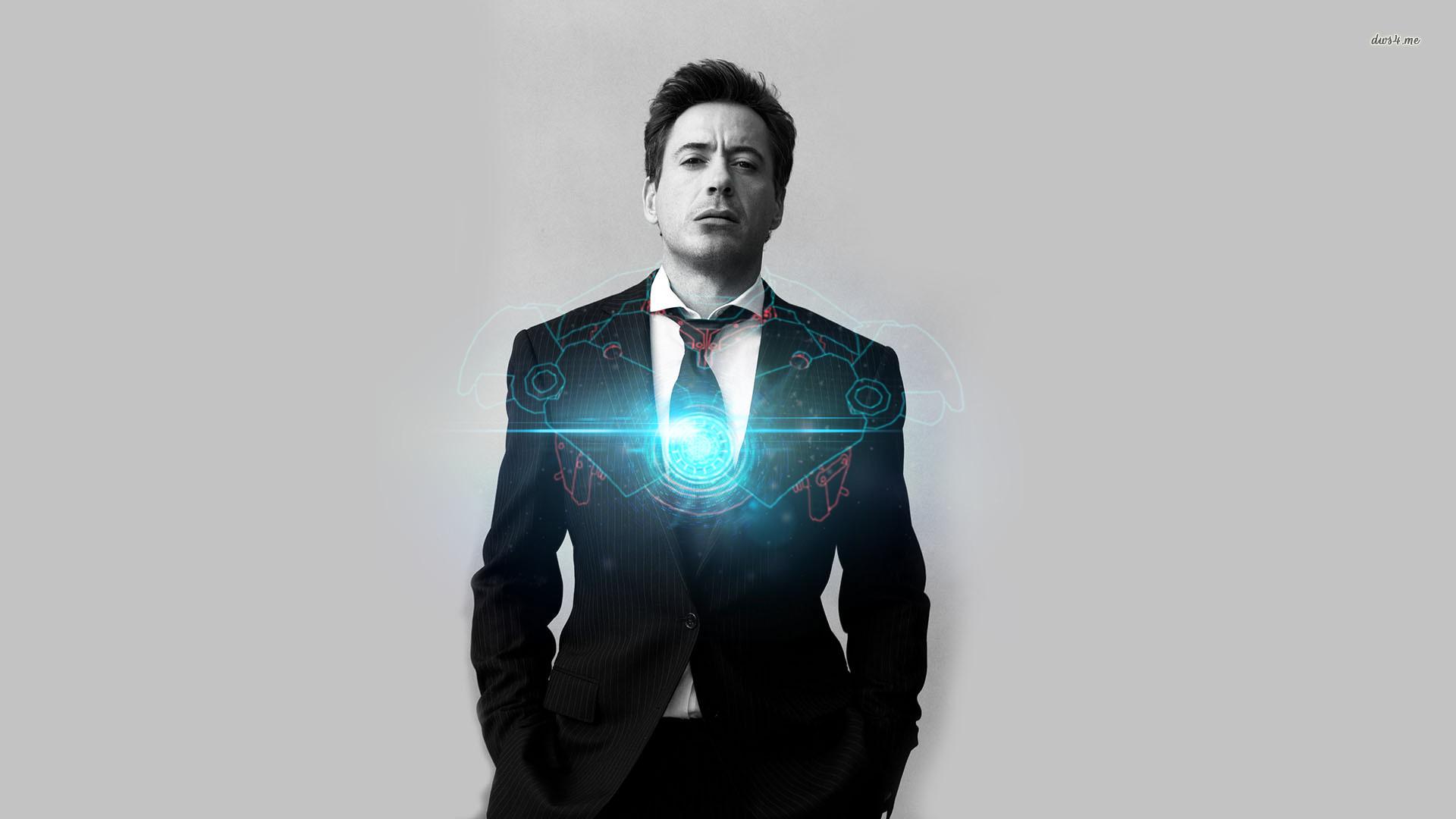 Robert Downey Jr Iron Man Wallpaper ①
