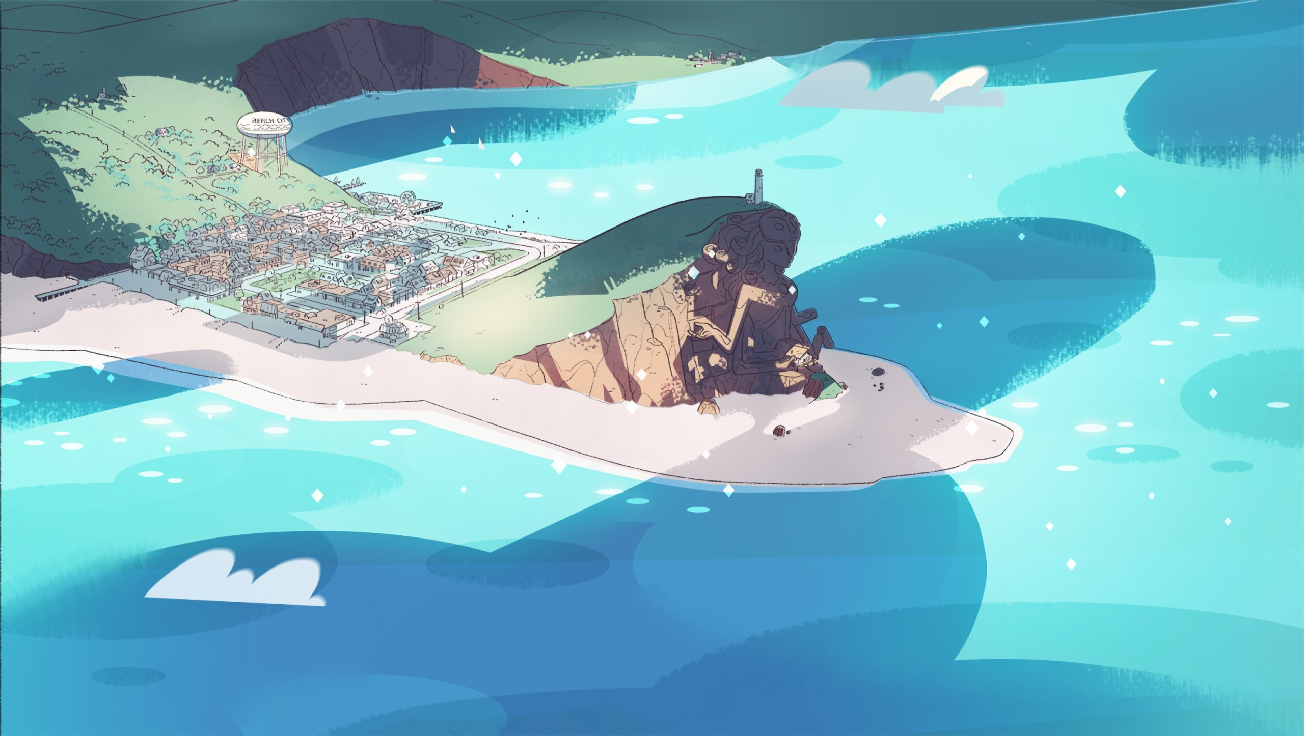 Steven Universe background Art ·① Download free awesome ...