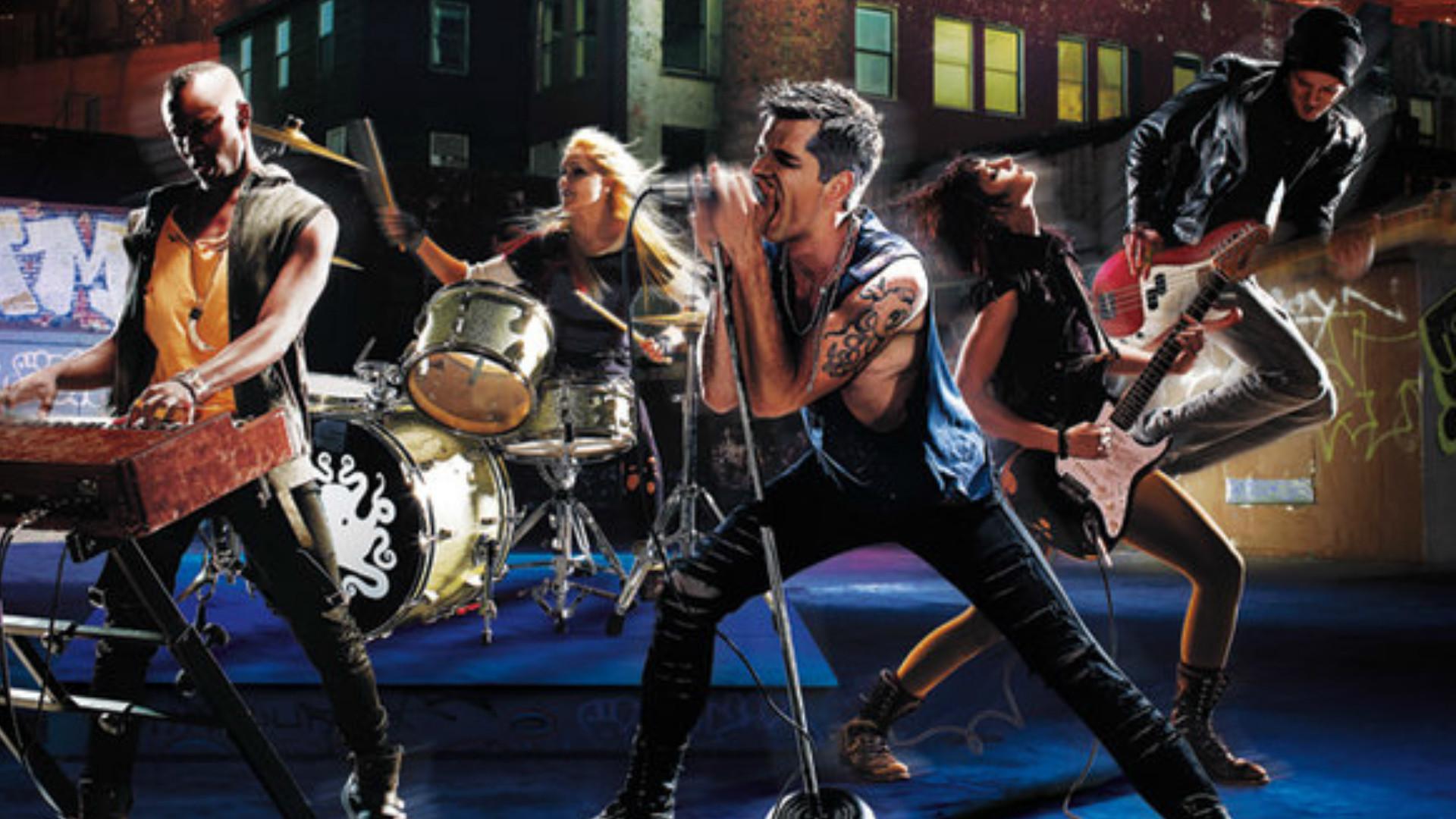 Rock Band Wallpaper  U00b7 U2460 Wallpapertag