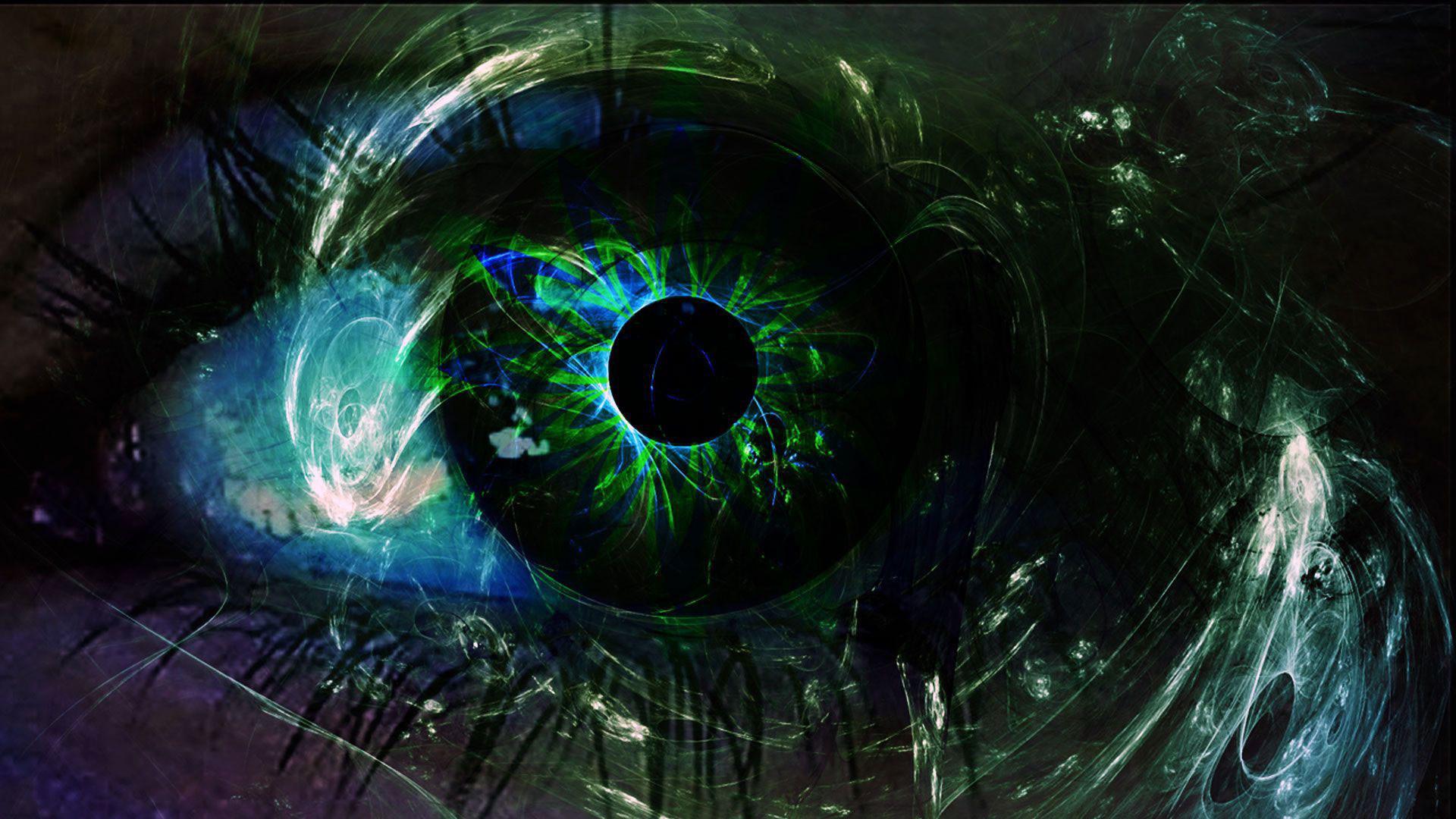 Абстракция картинки глаз