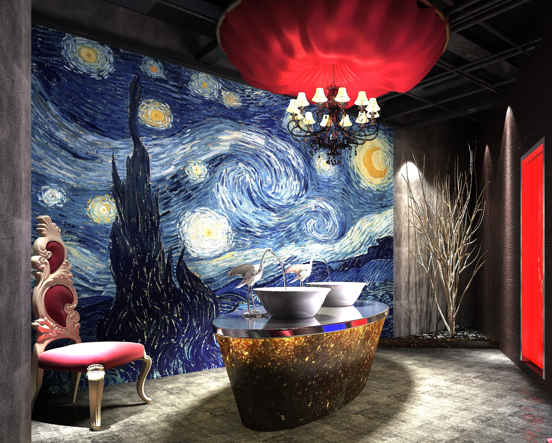 Van Gogh Cafe Terrace At Night Wallpapers Wallpapertag