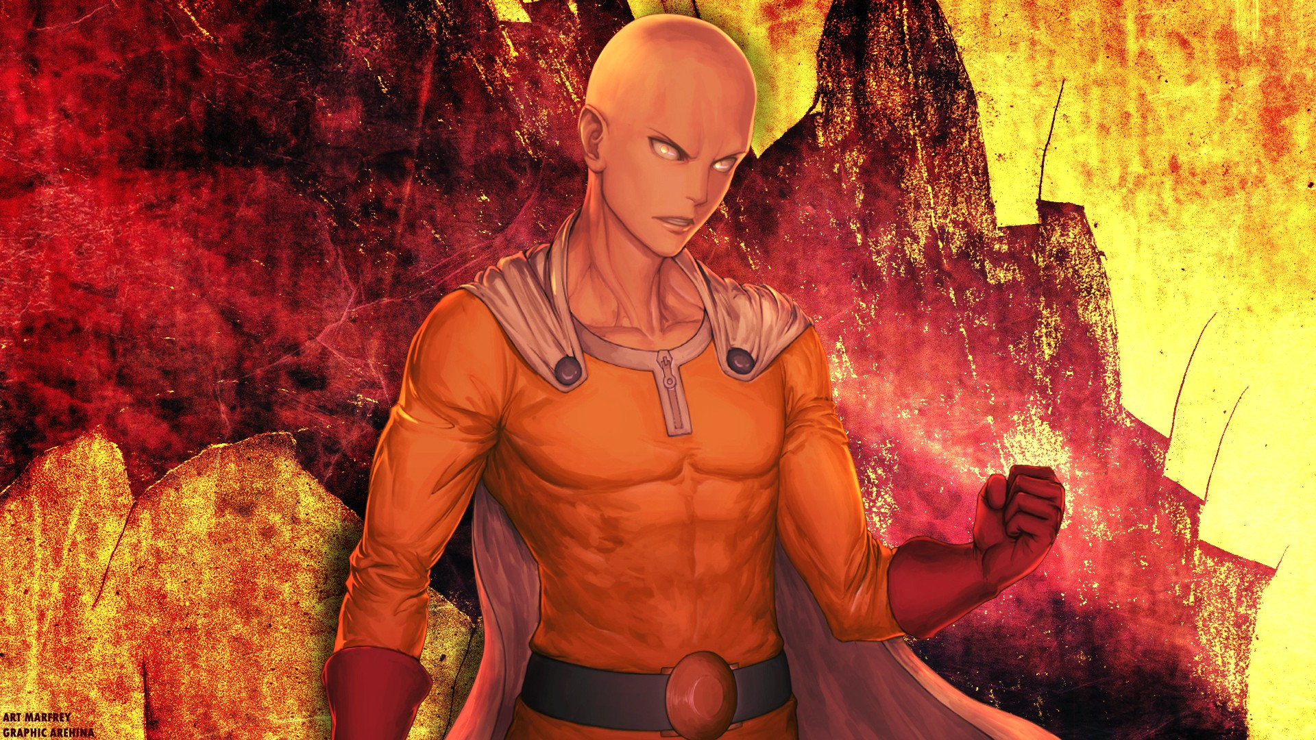 One Punch Man Wallpaper 1920x1080 Download Free Stunning Hd