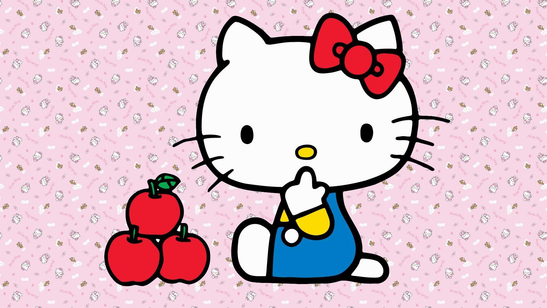 Hello kitty backgrounds for laptops wallpapertag - Wallpaper hello kitty full hd ...