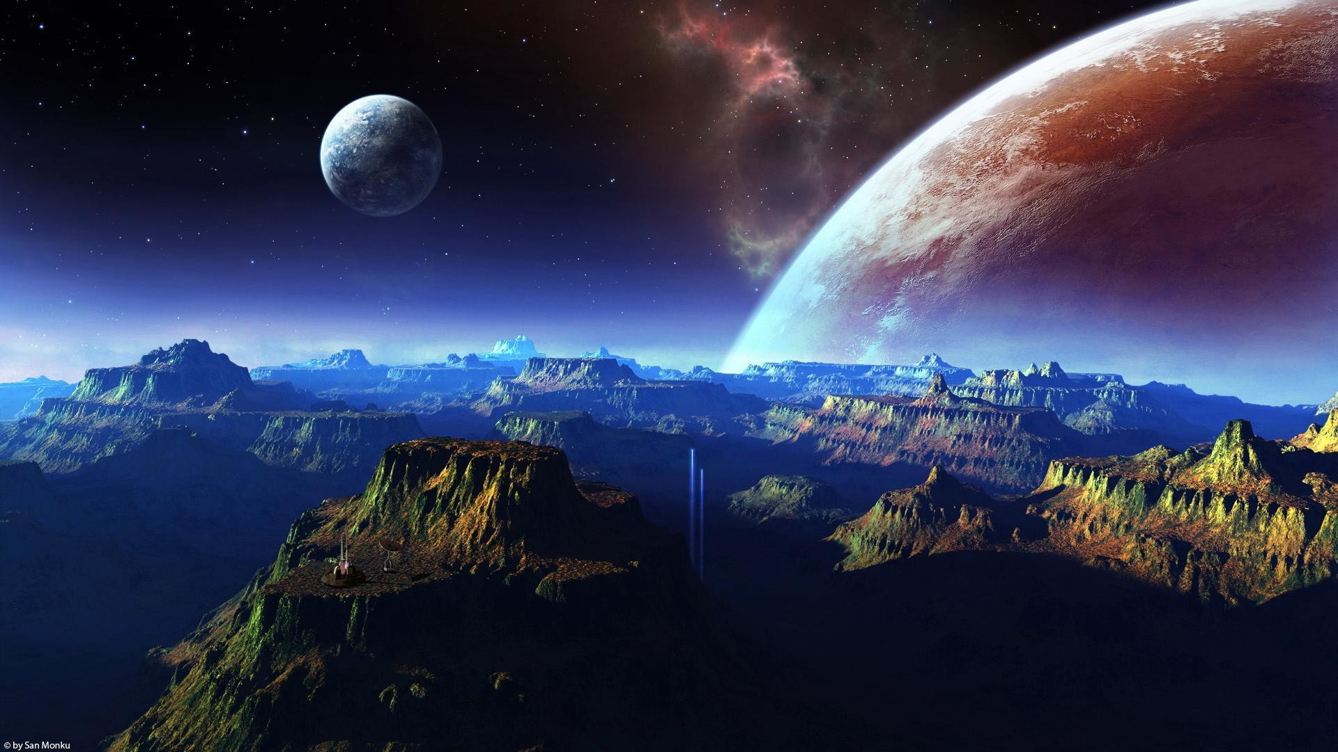Space HD Wallpapers 1080p ·① WallpaperTag