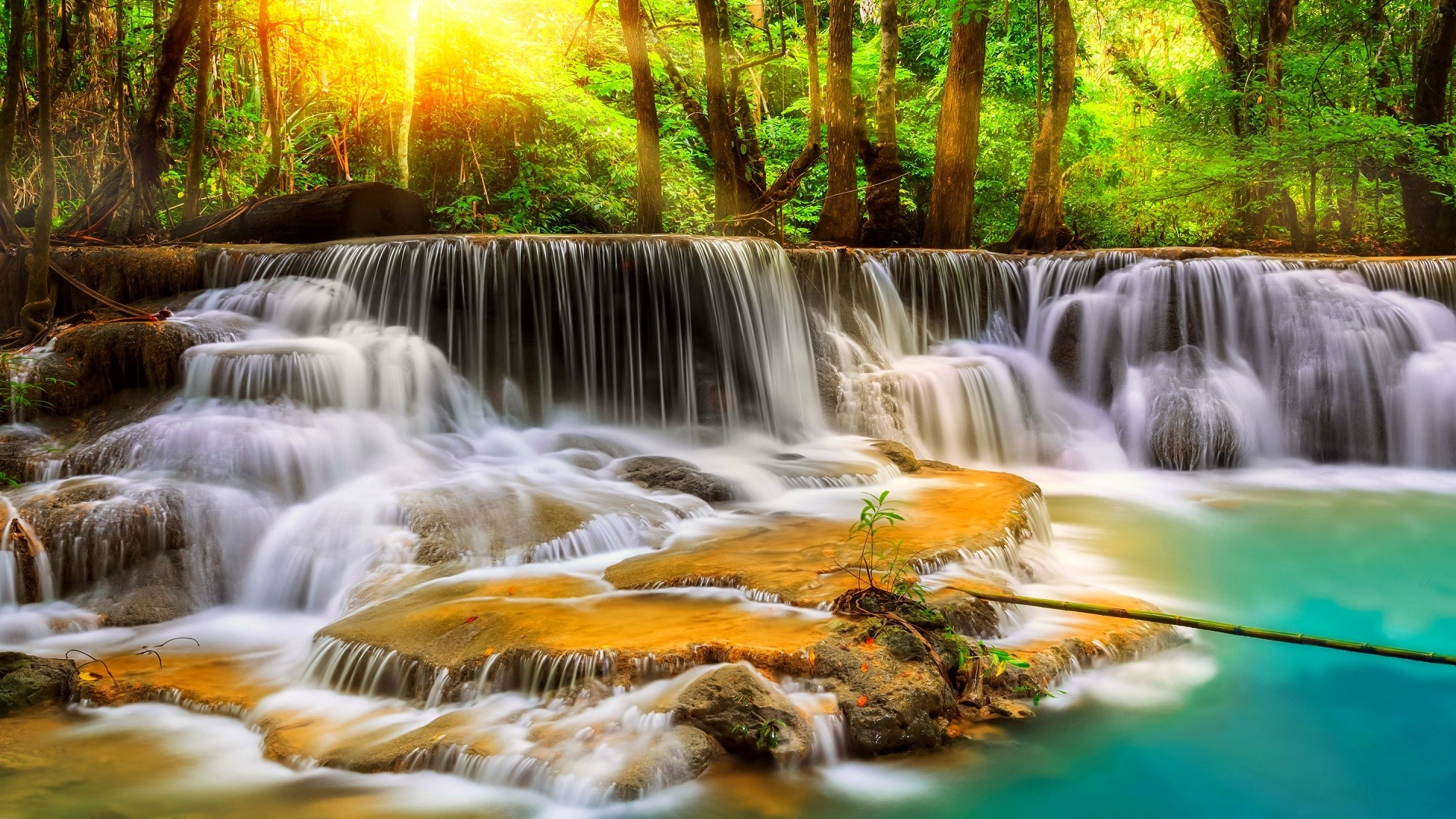 Waterfall HD Wallpaper ·① WallpaperTag