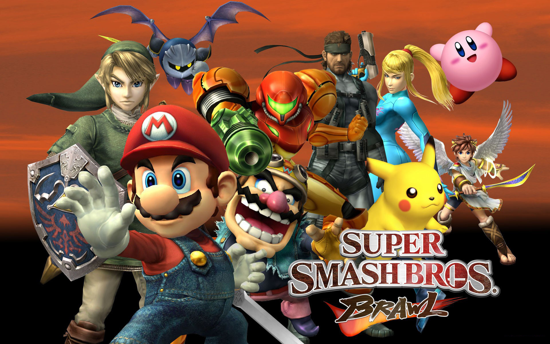 Super Smash Bros Brawl Wallpaper Wallpapertag