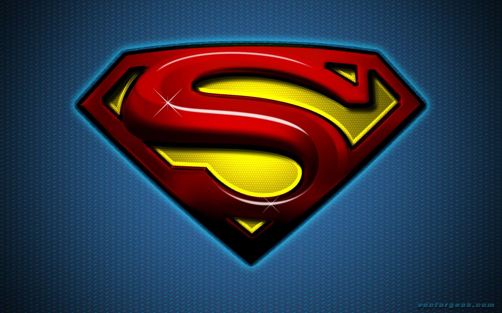 New Superman Logo Wallpaper ①