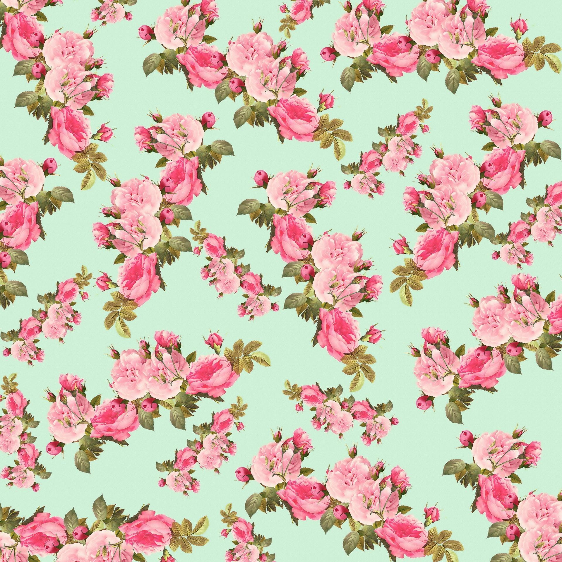 Vintage Flower Backgrounds Wallpapertag