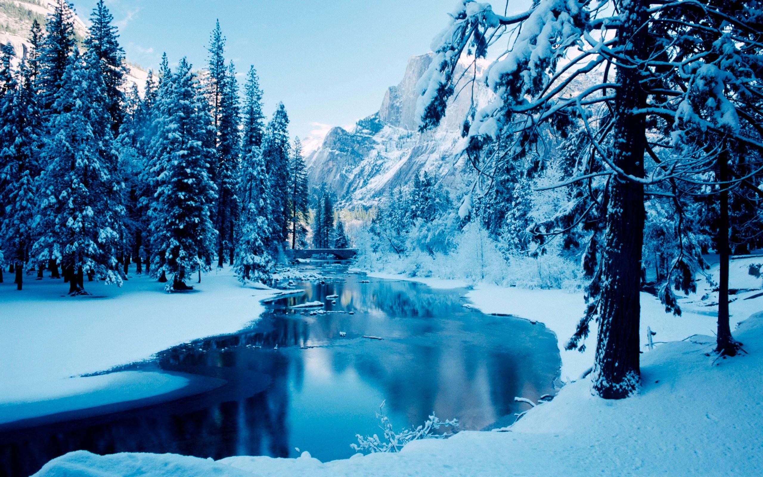 Winter Snow Scenes Wallpaper 1