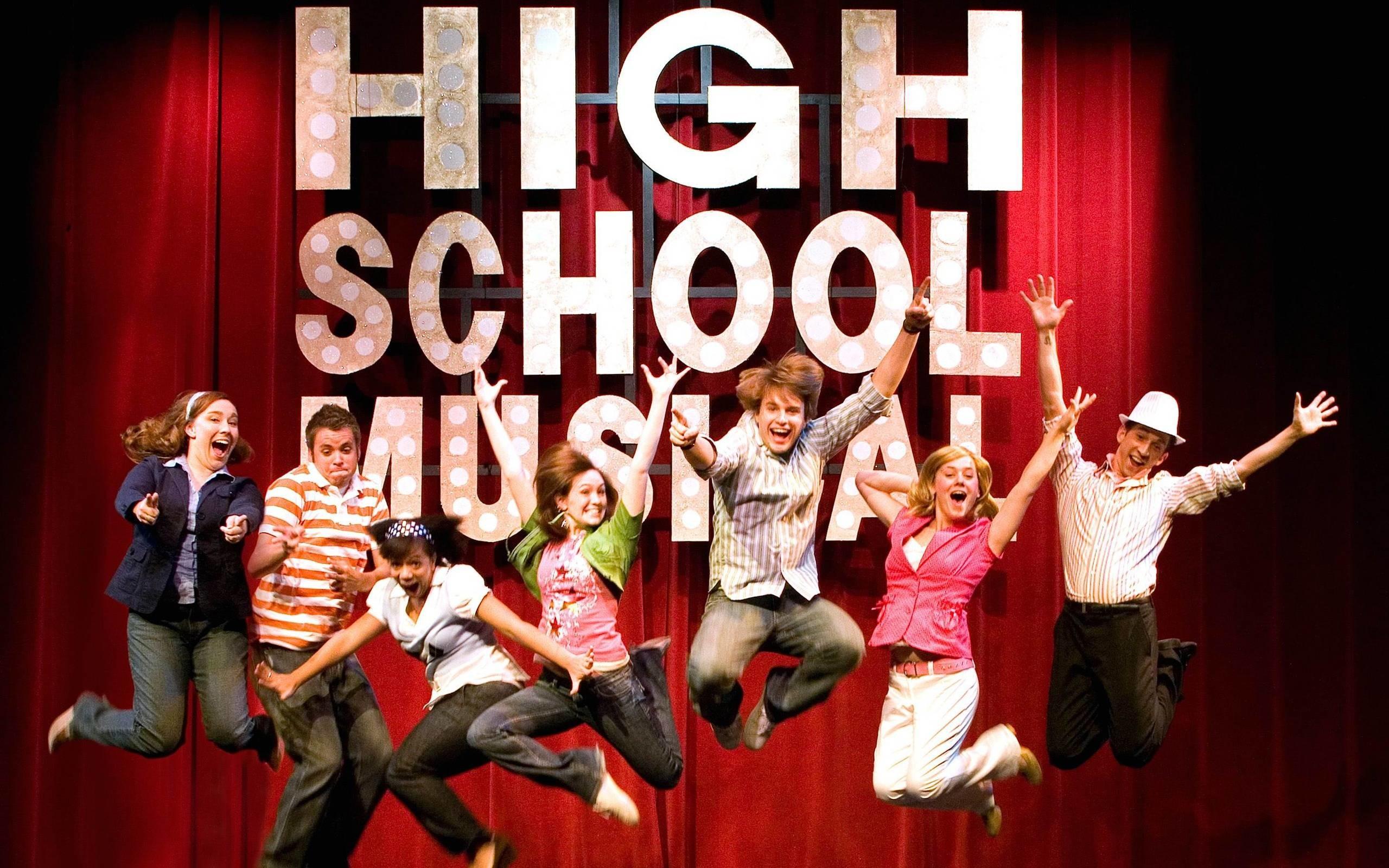 high school musical wallpaper ·①