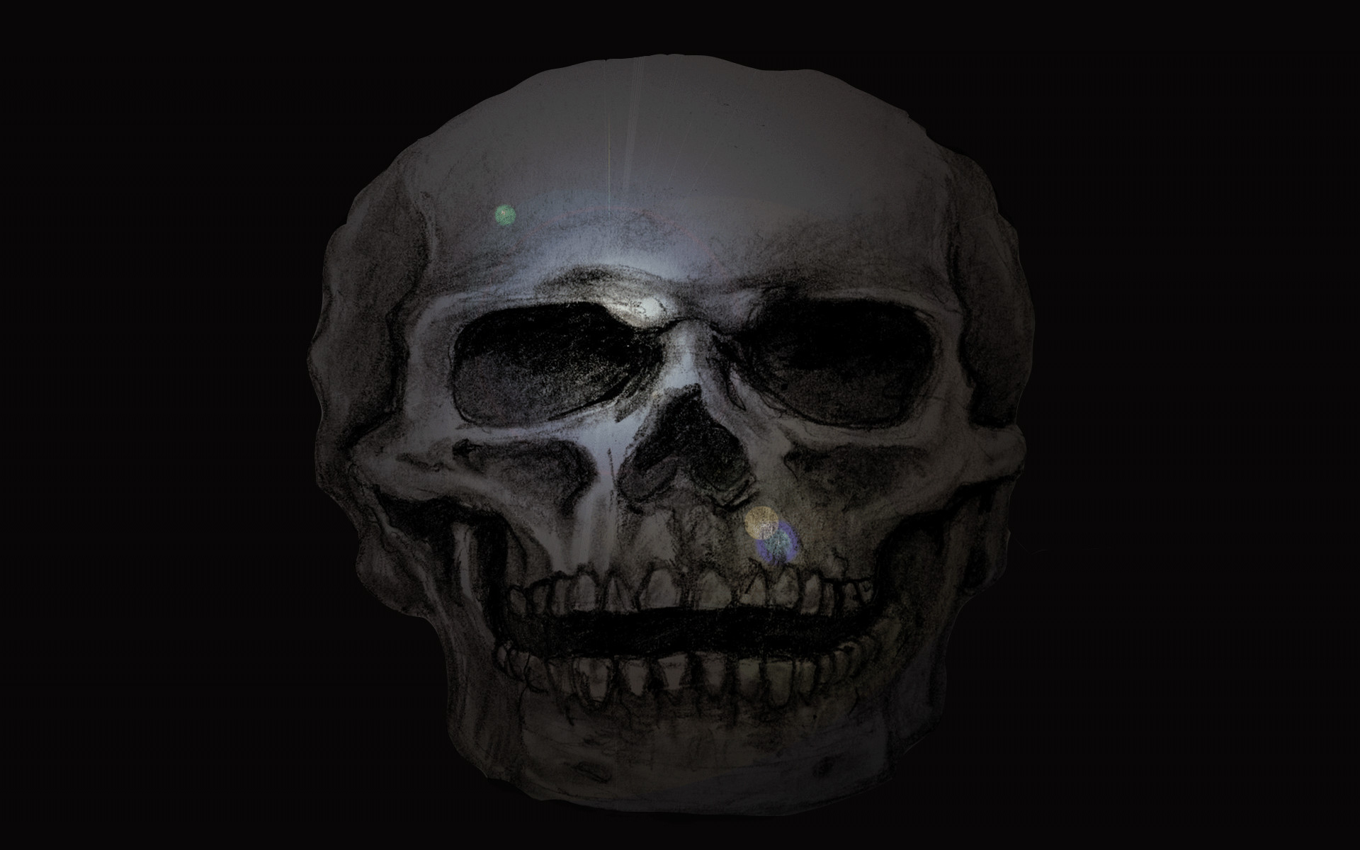 Scary desktop backgrounds wallpapertag - Scary skull backgrounds ...