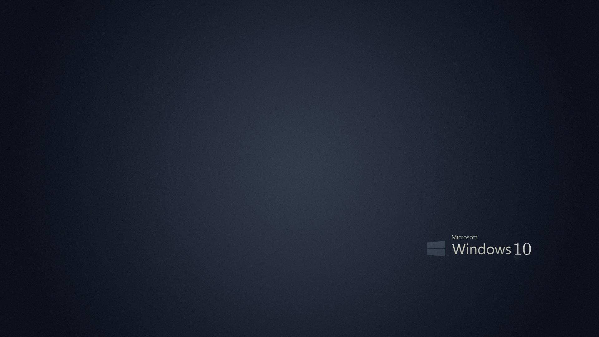 1920x1080 Cool Dark Windows 10 Wallpaper Download