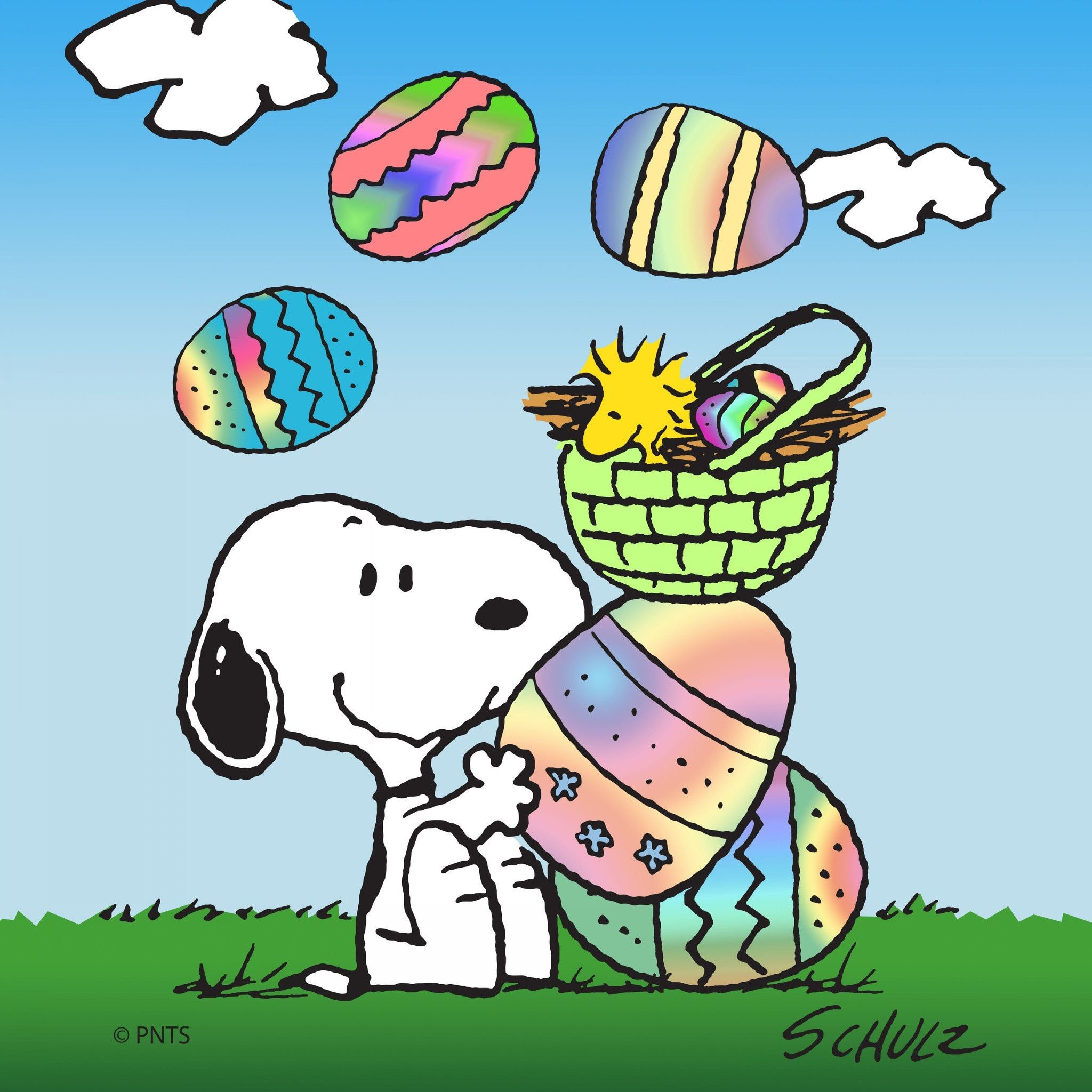 Peanuts easter wallpaper - Free snoopy images ...