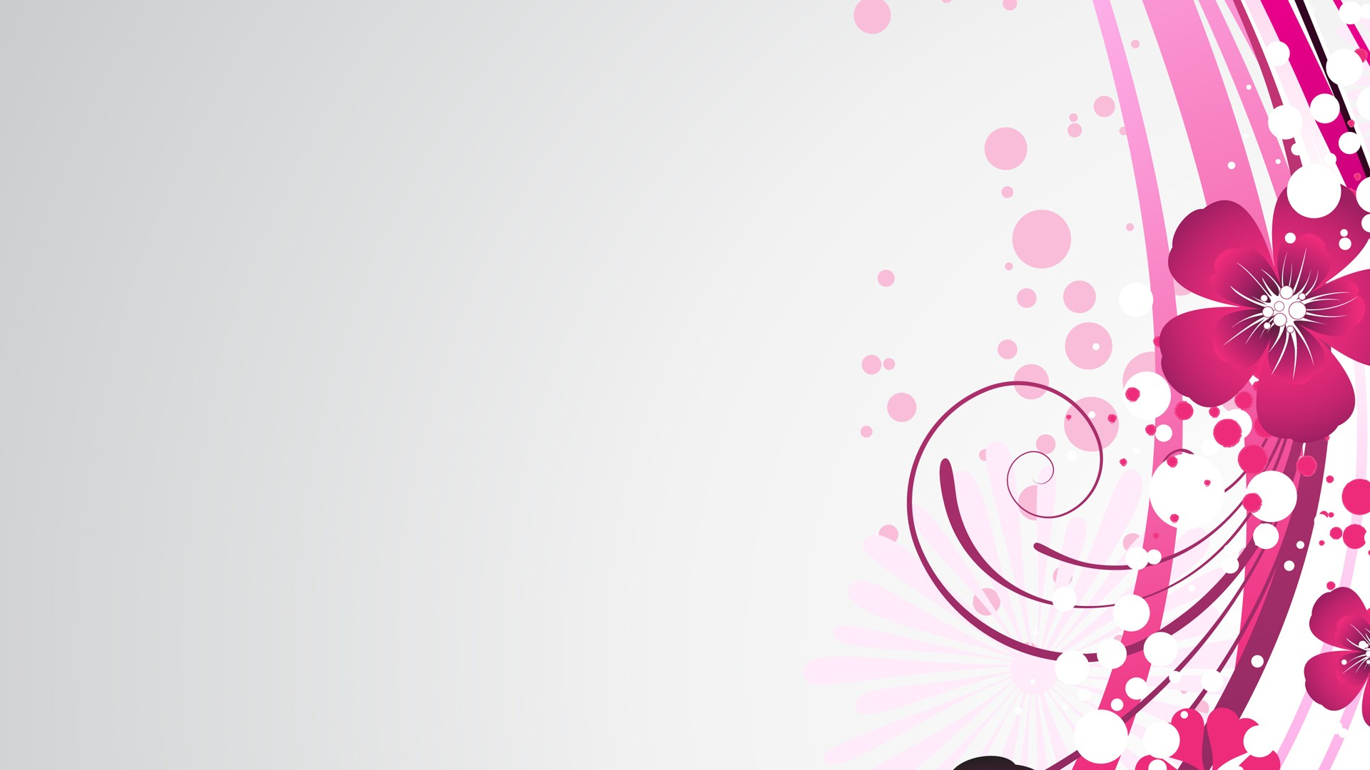 pink and white background - HD1920×1080