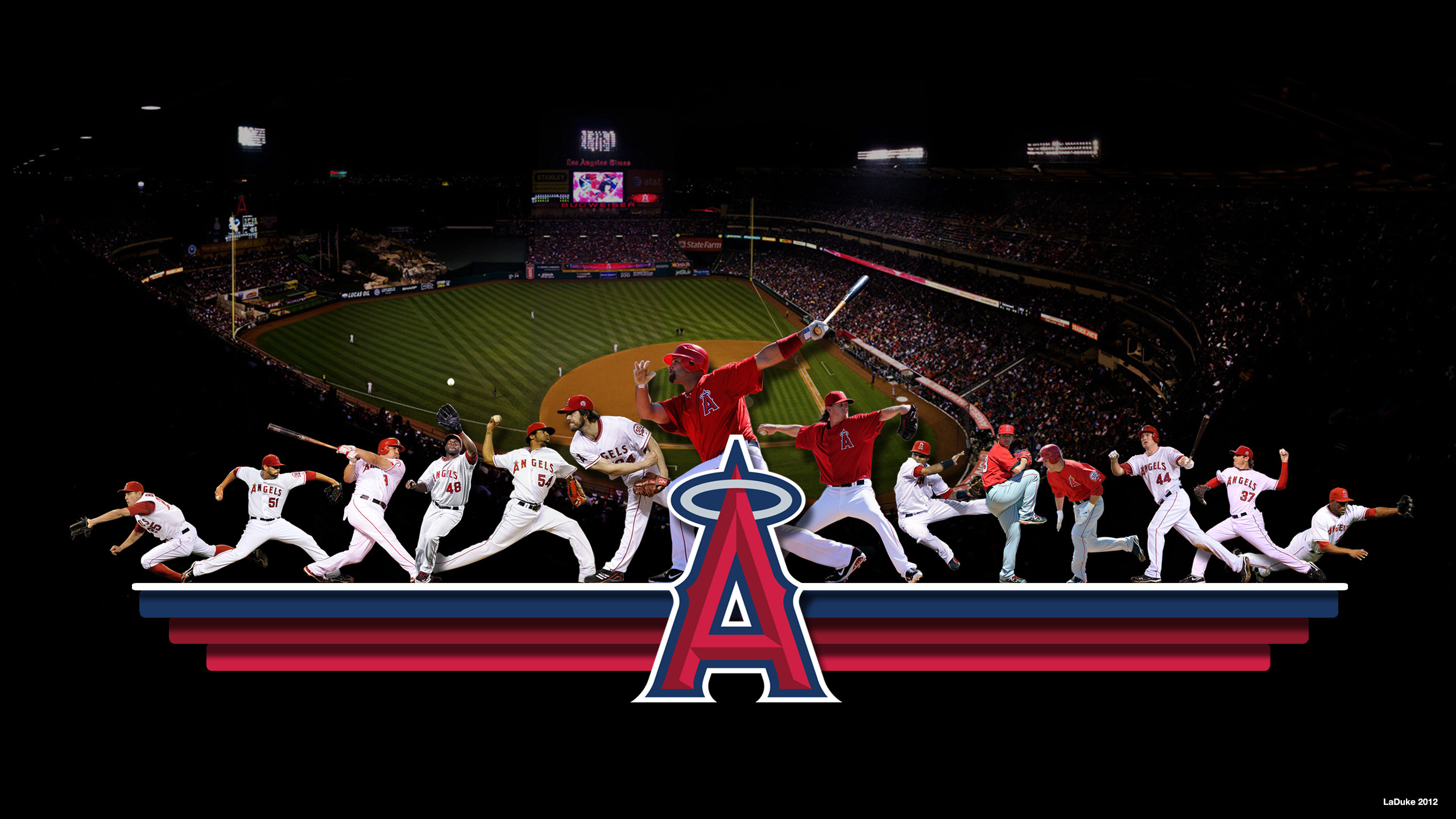 Angels Baseball Wallpaper Wallpapertag