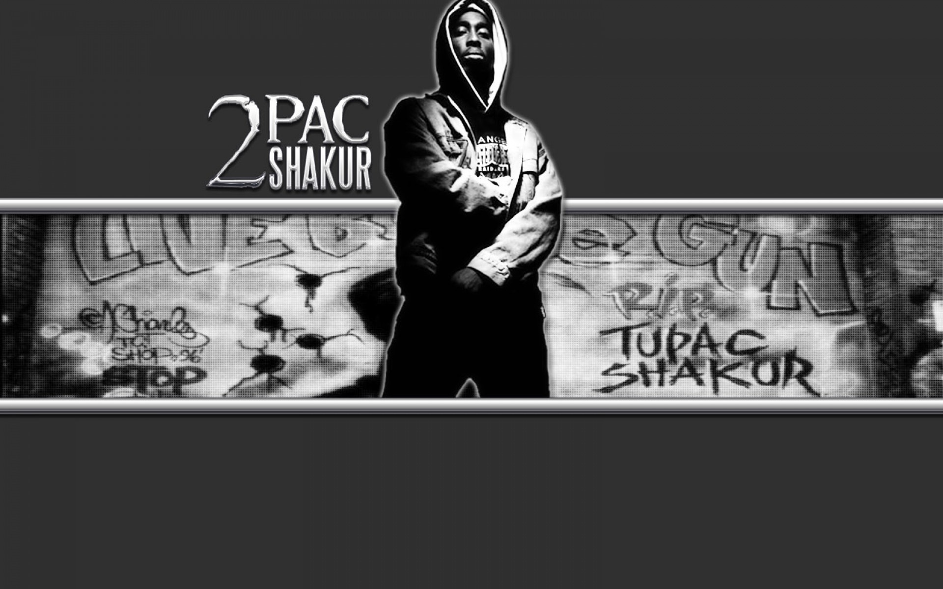 2Pac Wallpaper Thug Life 1