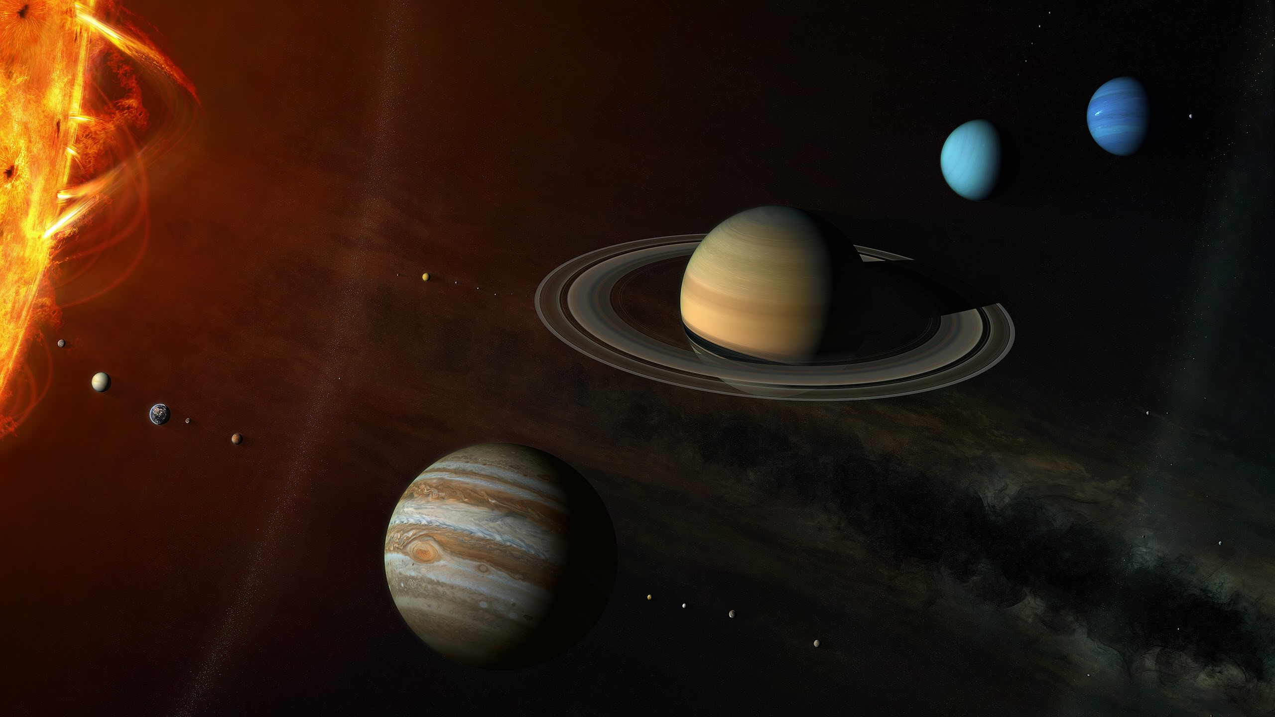 solar system pictures - HD2560×1440