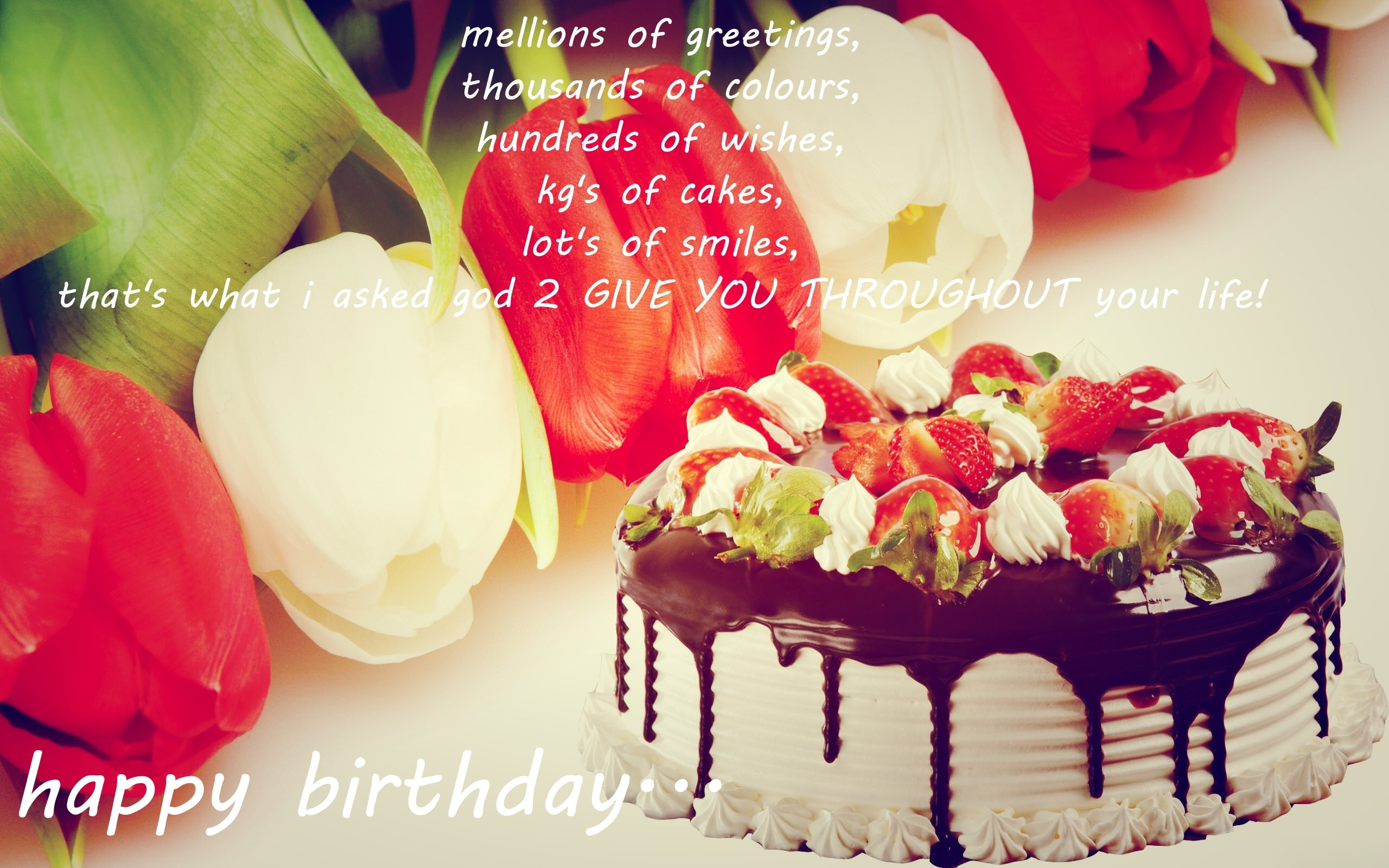 2560x1600 Happy Birthday Wallpaper With Quotes Download 0